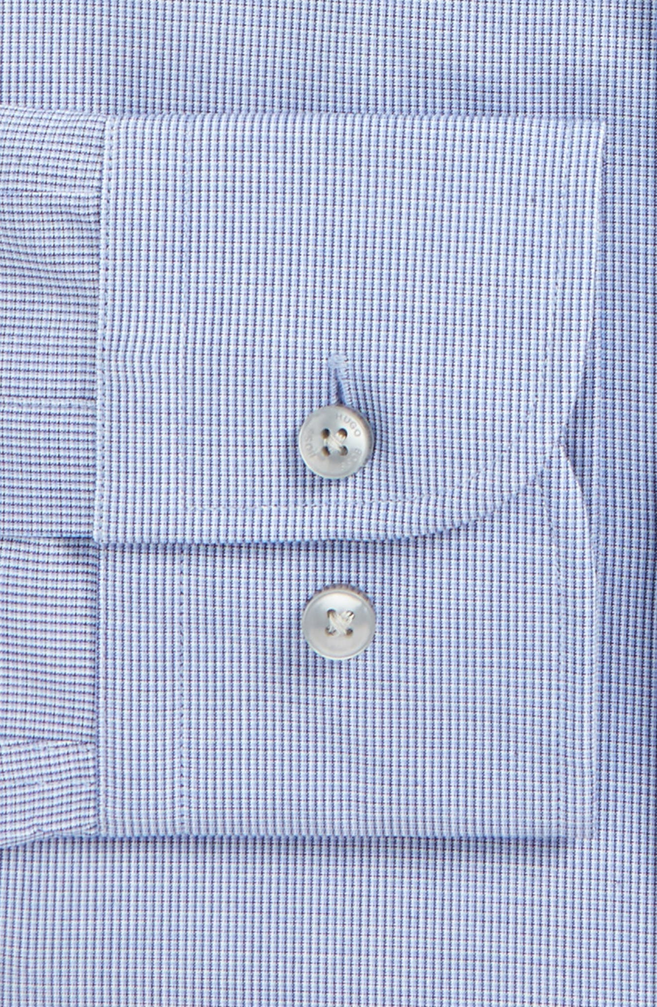 Alternate Image 3  - BOSS Jerris Slim Fit Easy Iron Check Dress Shirt