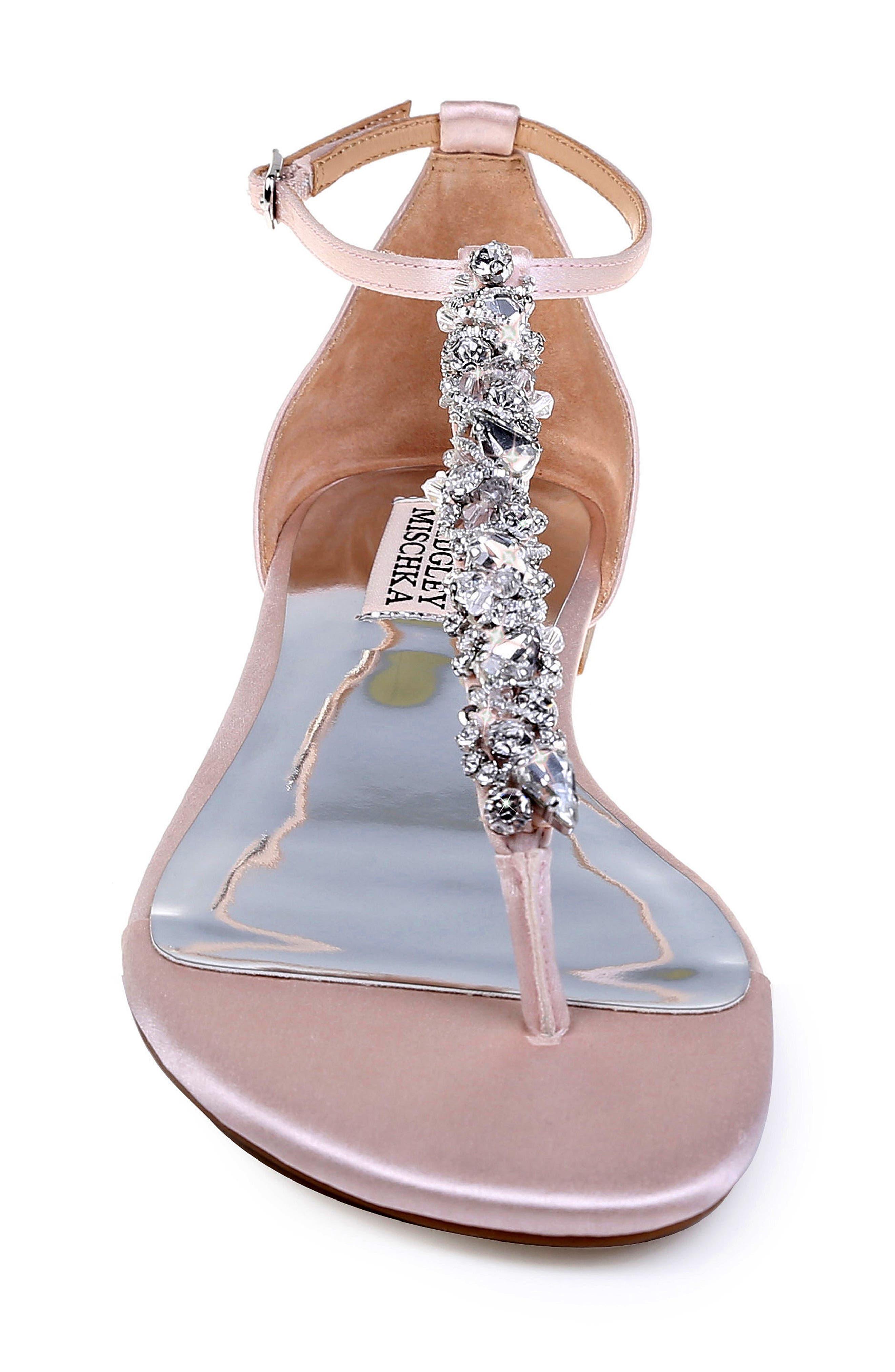 Alternate Image 4  - Badgley Mischka Holbrook T-Strap Sandal (Women)