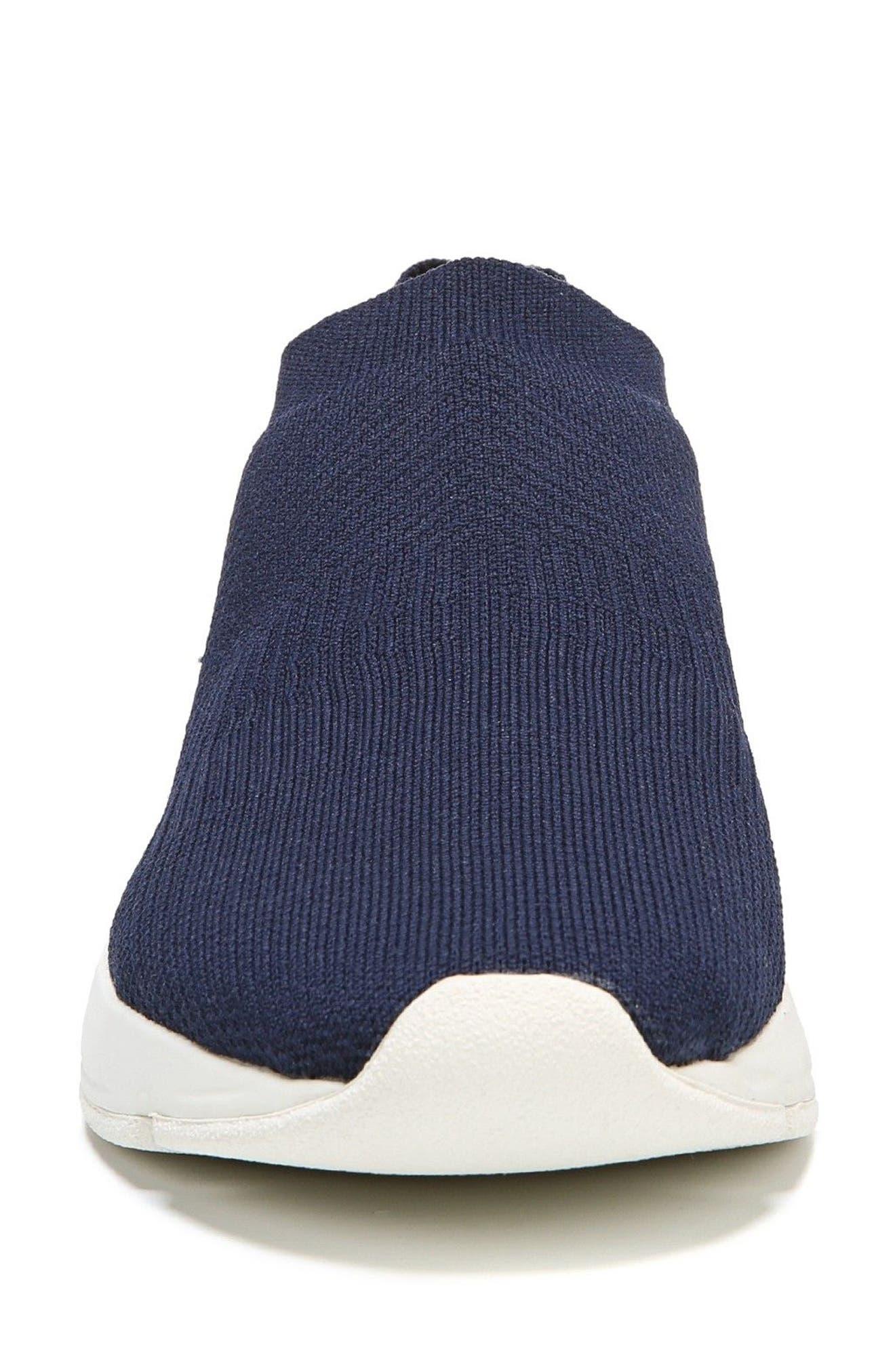 Theroux Slip-On Knit Sneaker,                             Alternate thumbnail 5, color,                             Navy