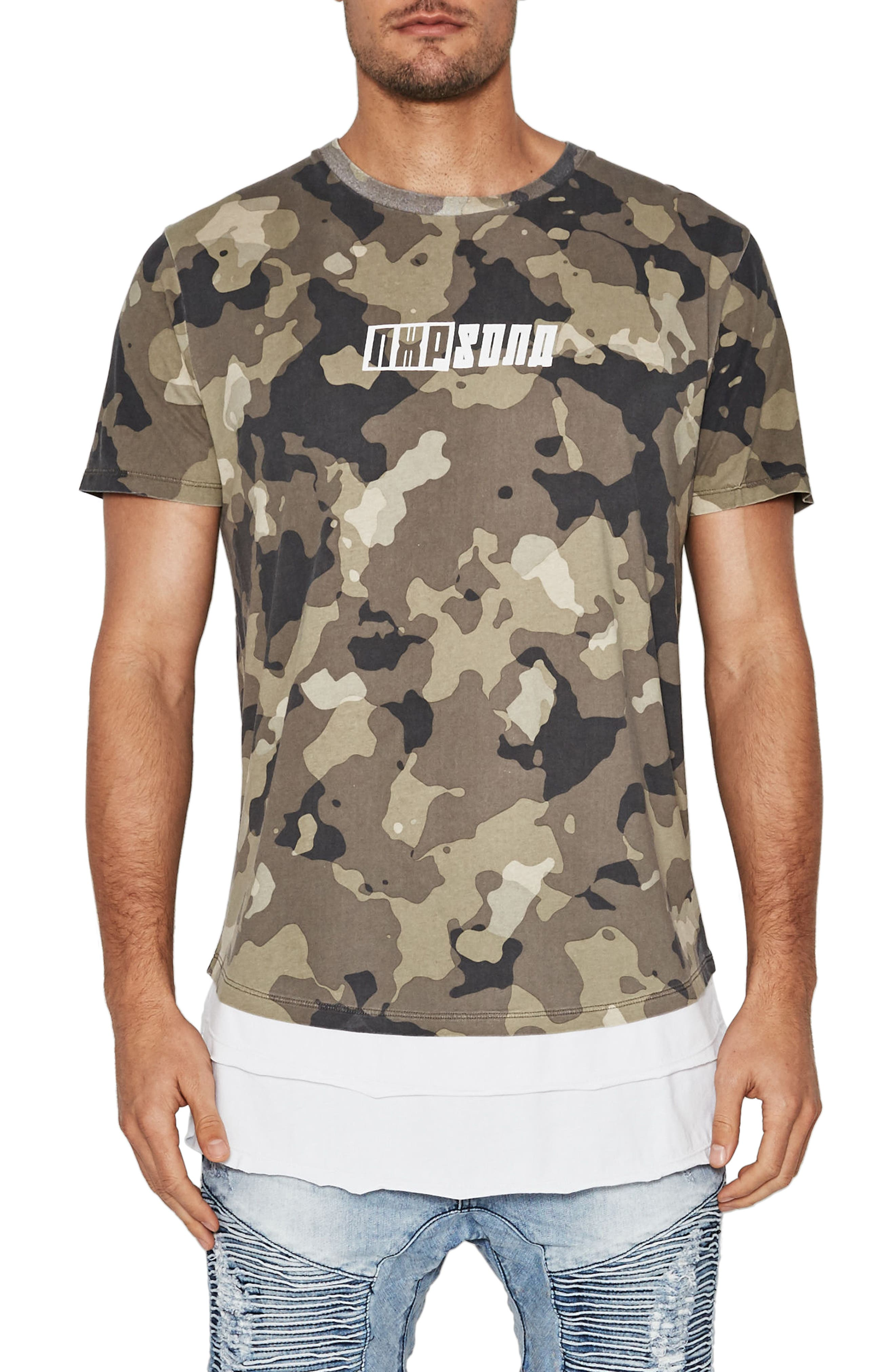 Specialized Camo T-Shirt,                             Main thumbnail 1, color,                             Camo