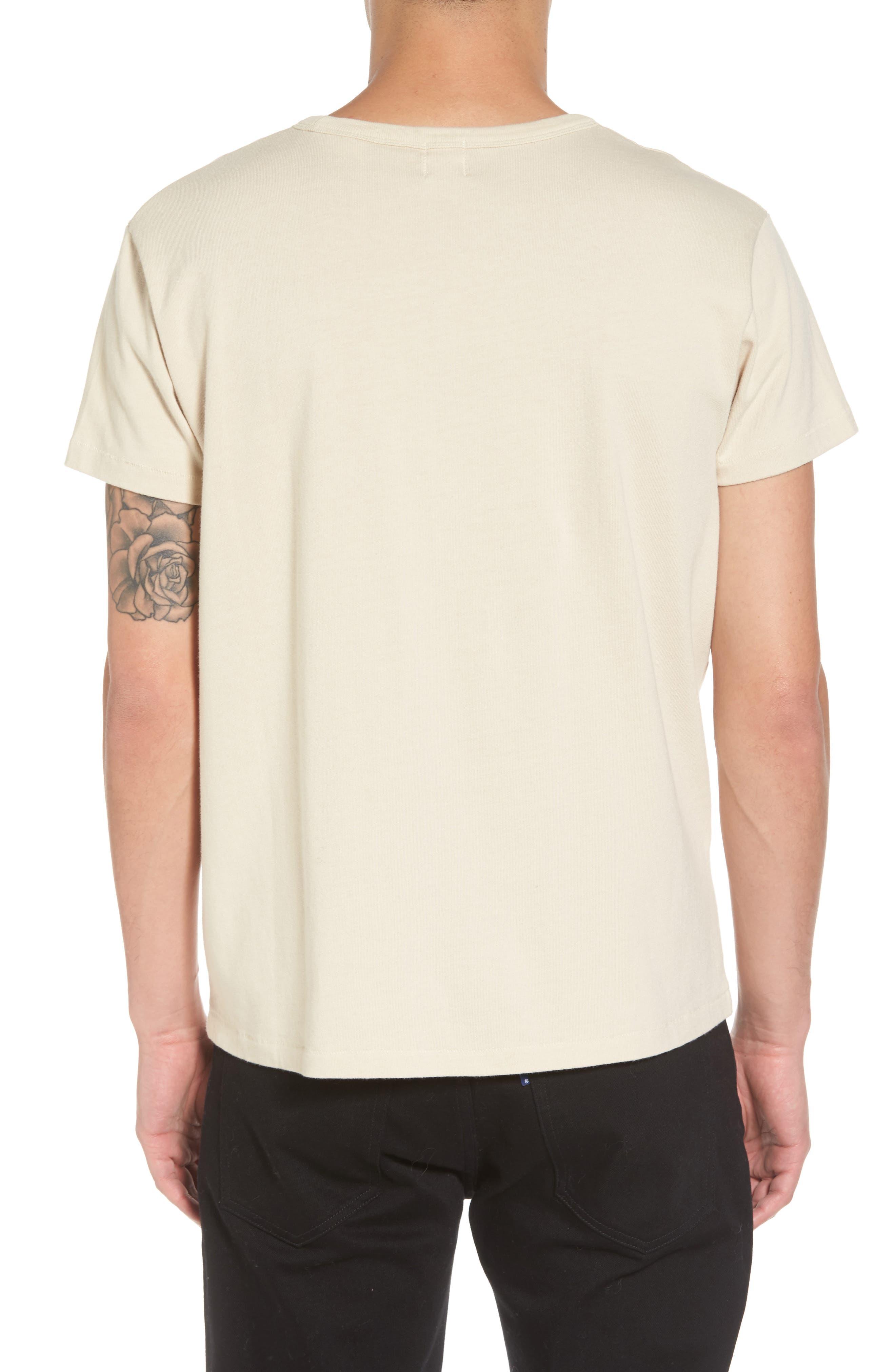 1960s Loose Graphic T-Shirt,                             Alternate thumbnail 2, color,                             Zero Sand Shell