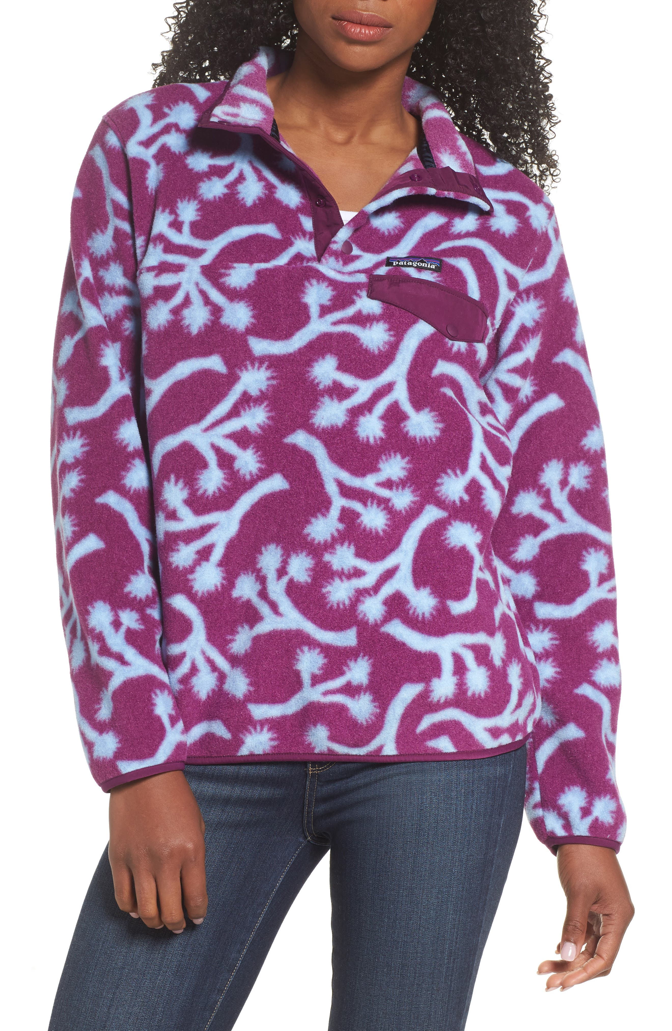 Alternate Image 1 Selected - Patagonia Synchilla Snap-T® Fleece Pullover