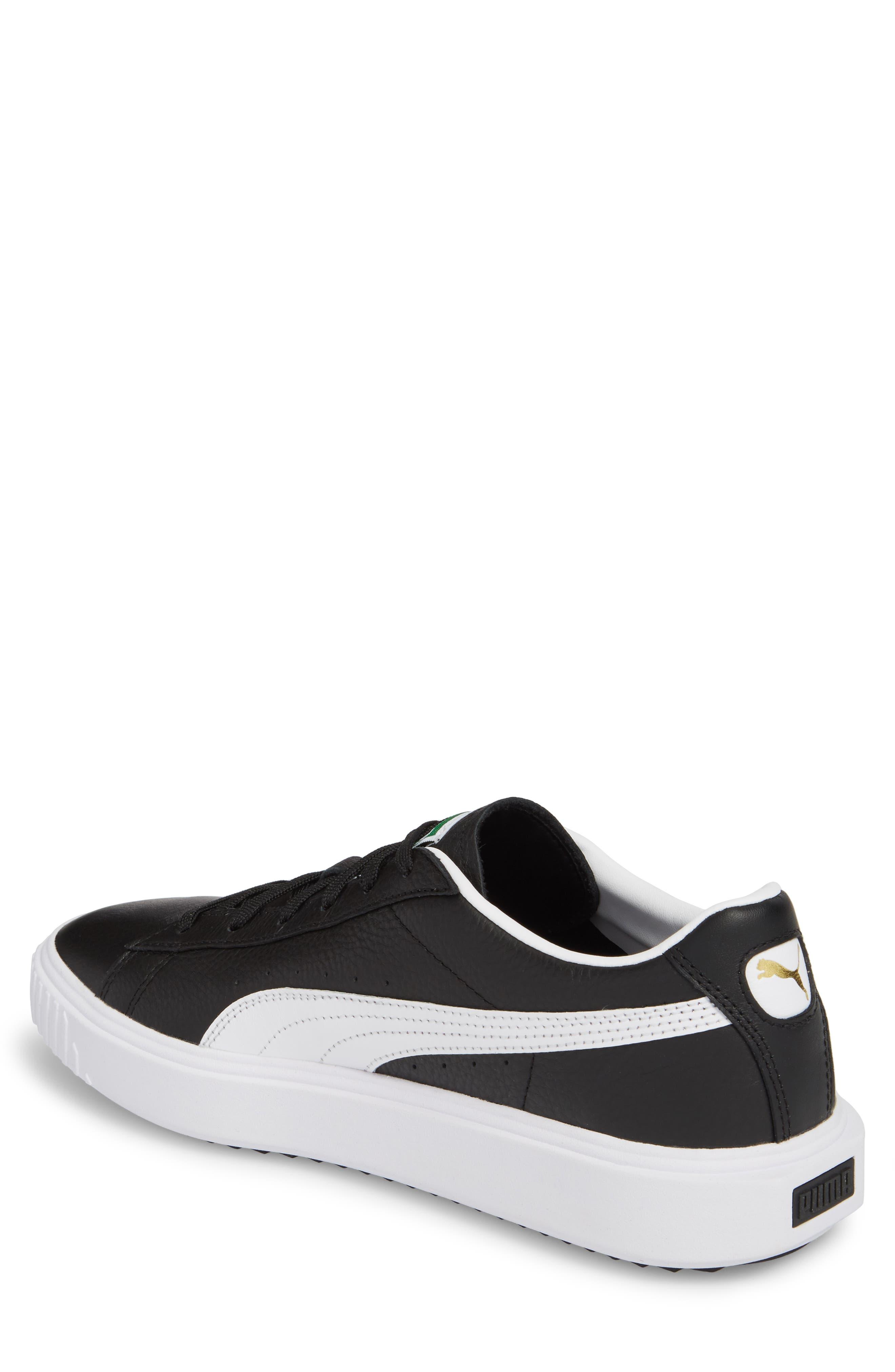 Alternate Image 2  - PUMA Breaker Low Top Sneaker (Men)
