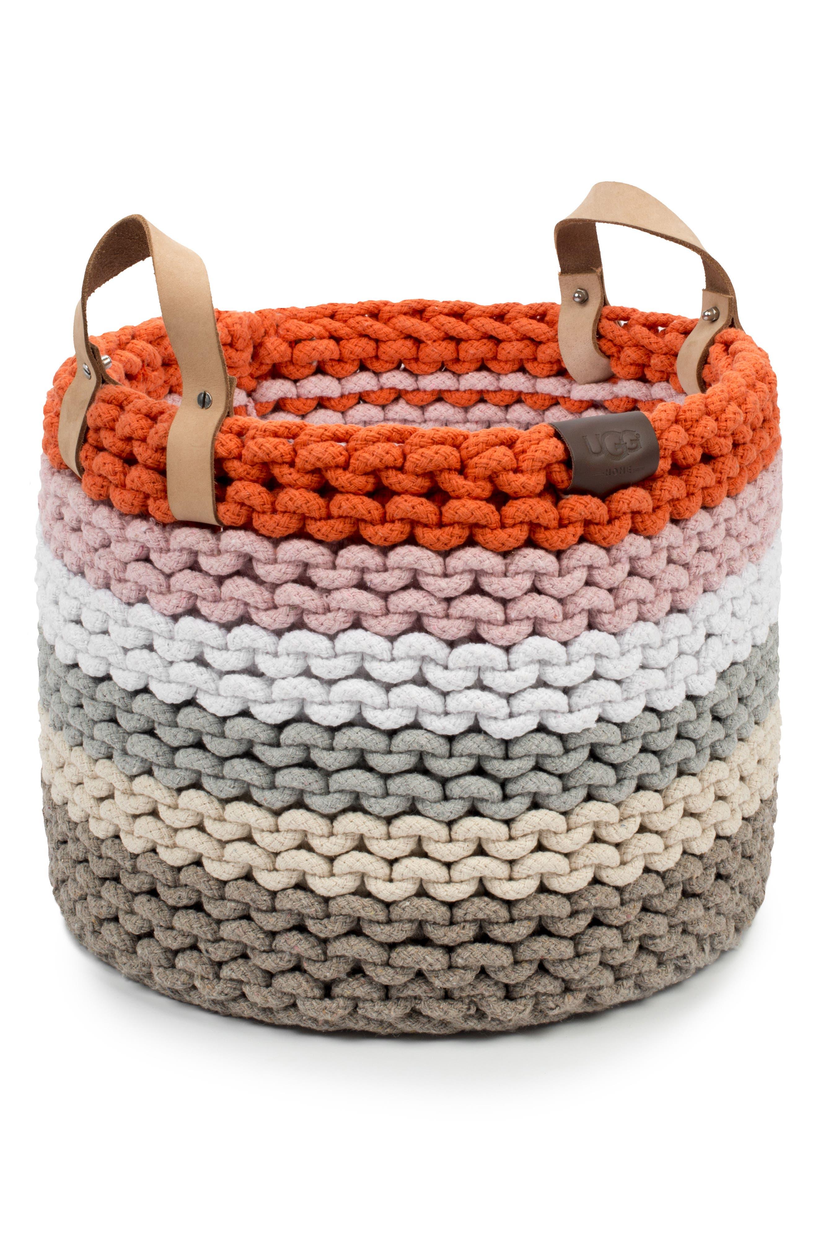 UGG® Rainbow Rope Basket