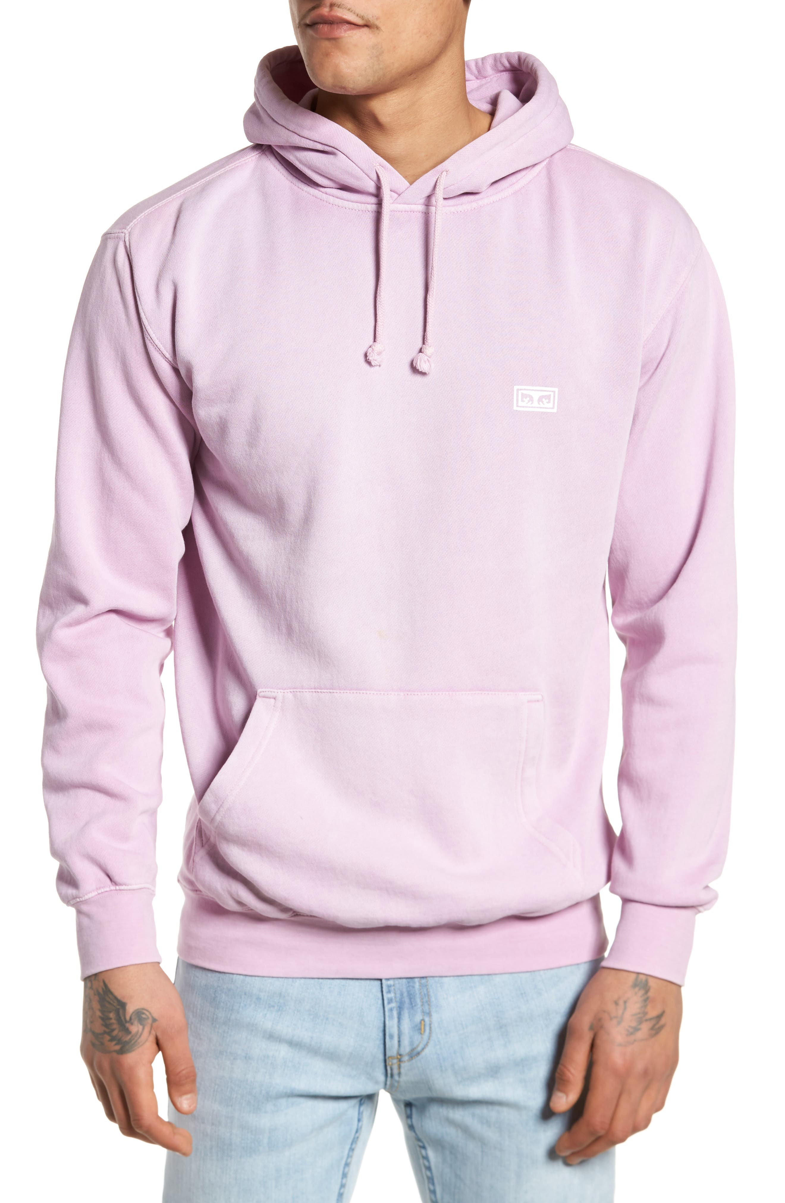 Main Image - Obey Jumble Lo-Fi Pigment Dyed Hoodie