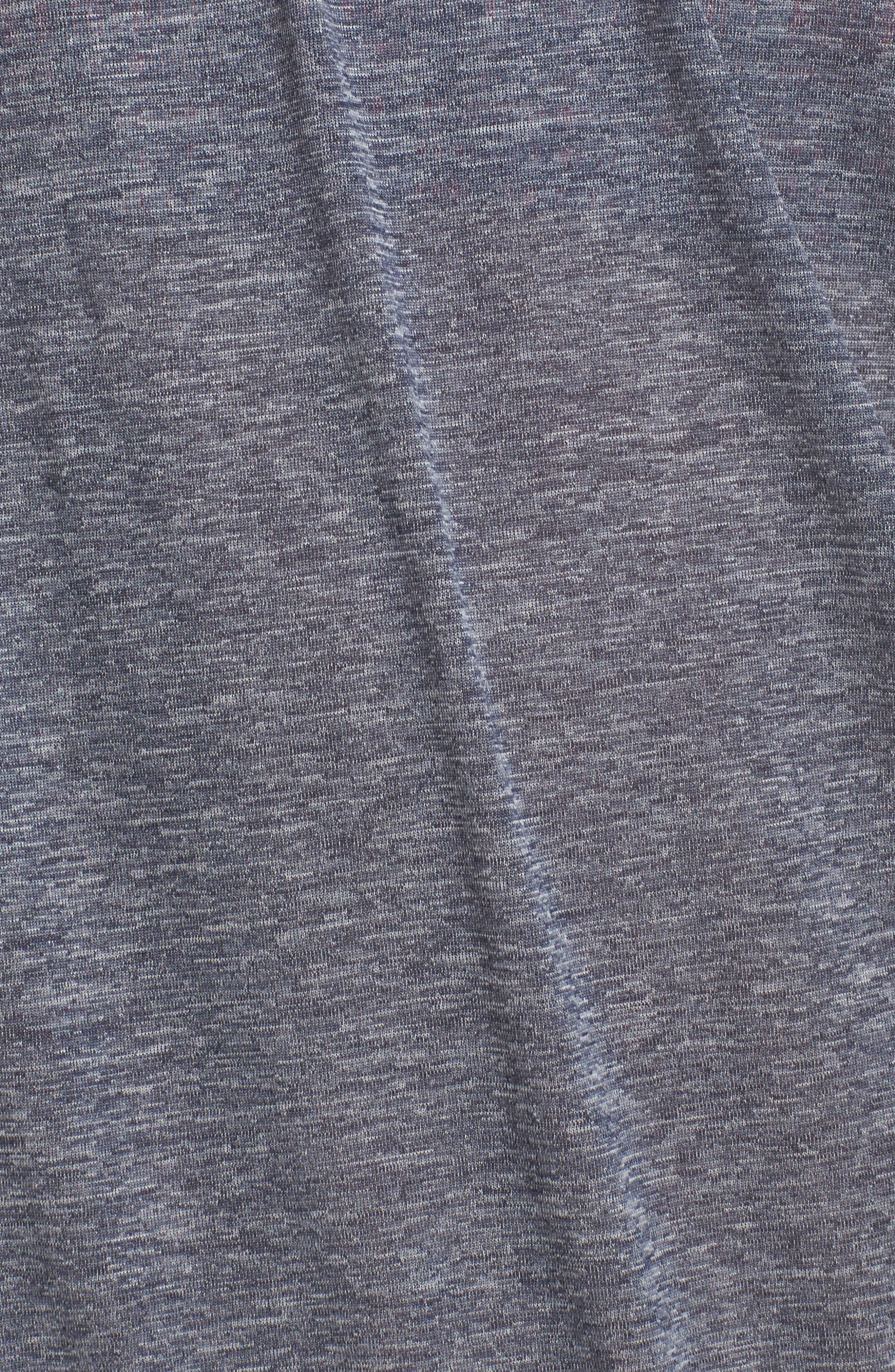 Layered Sport Tankini Top,                             Alternate thumbnail 5, color,                             Thunder Blue