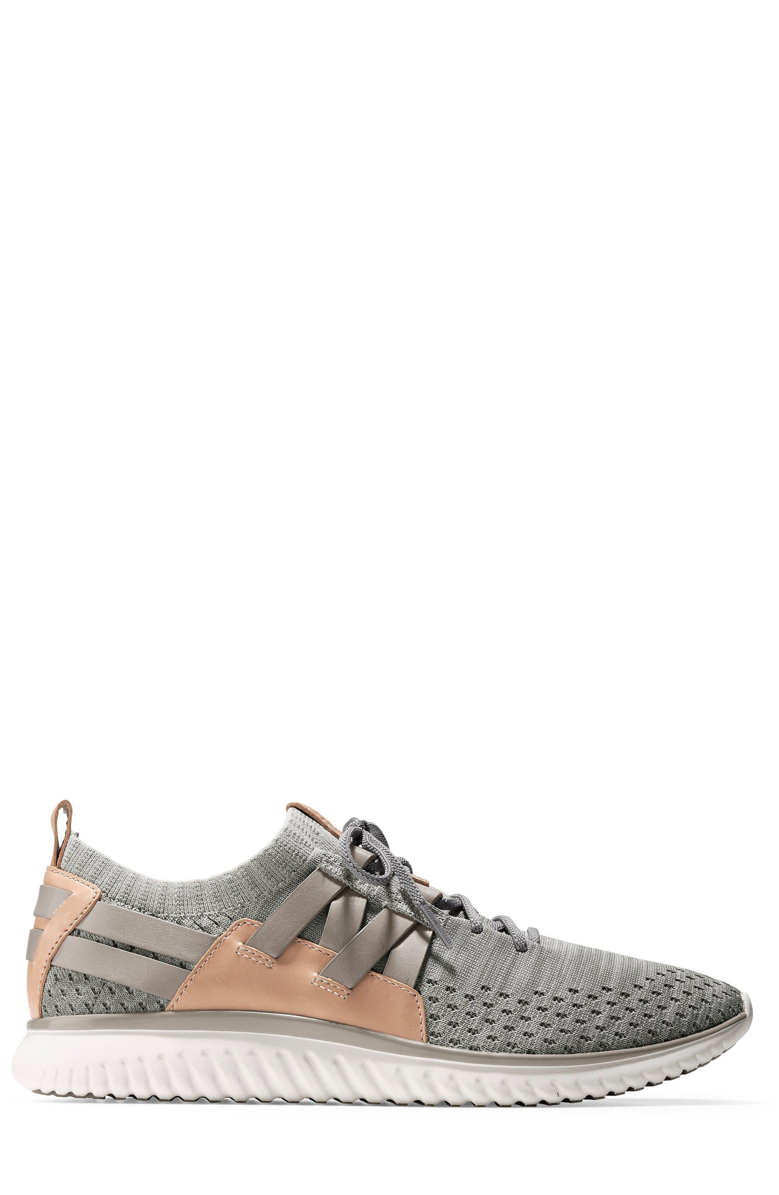 Grand Motion Sneaker,                             Alternate thumbnail 3, color,                             Rockridge/ Ivory
