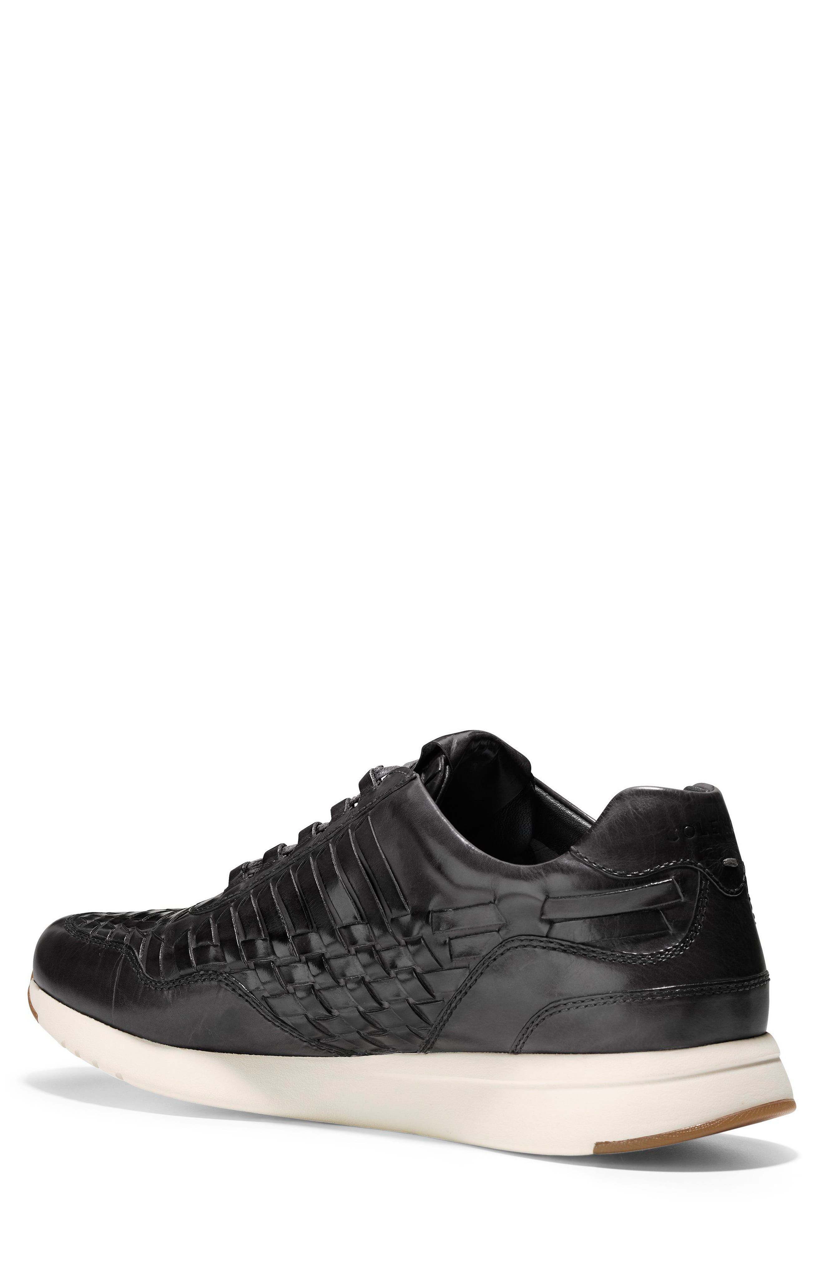 GrandPrø Runner Huarache Sneaker,                             Alternate thumbnail 2, color,                             Magnet Woven Burnish