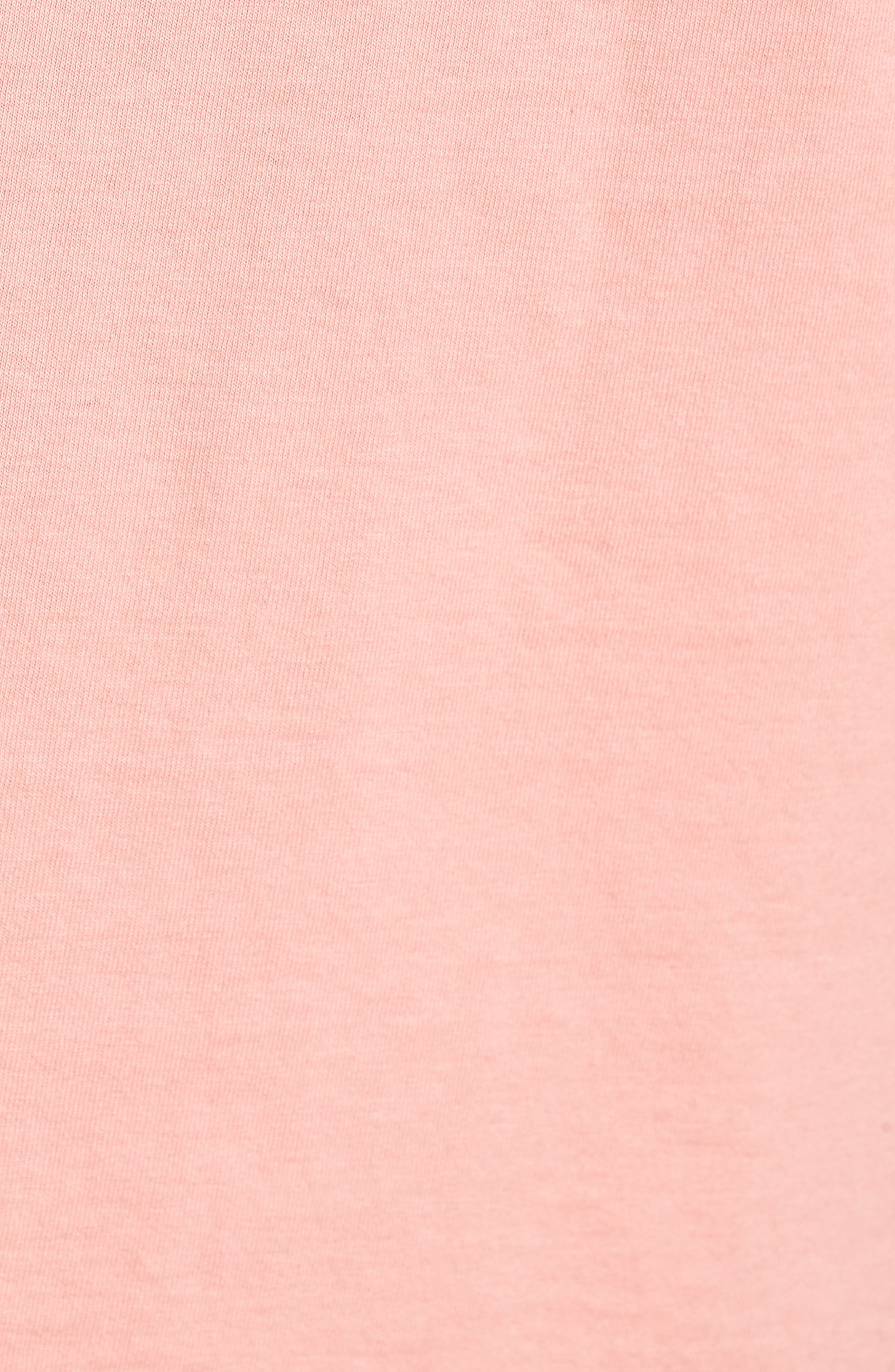 The Next Wave Boxy T-Shirt,                             Alternate thumbnail 5, color,                             Coral