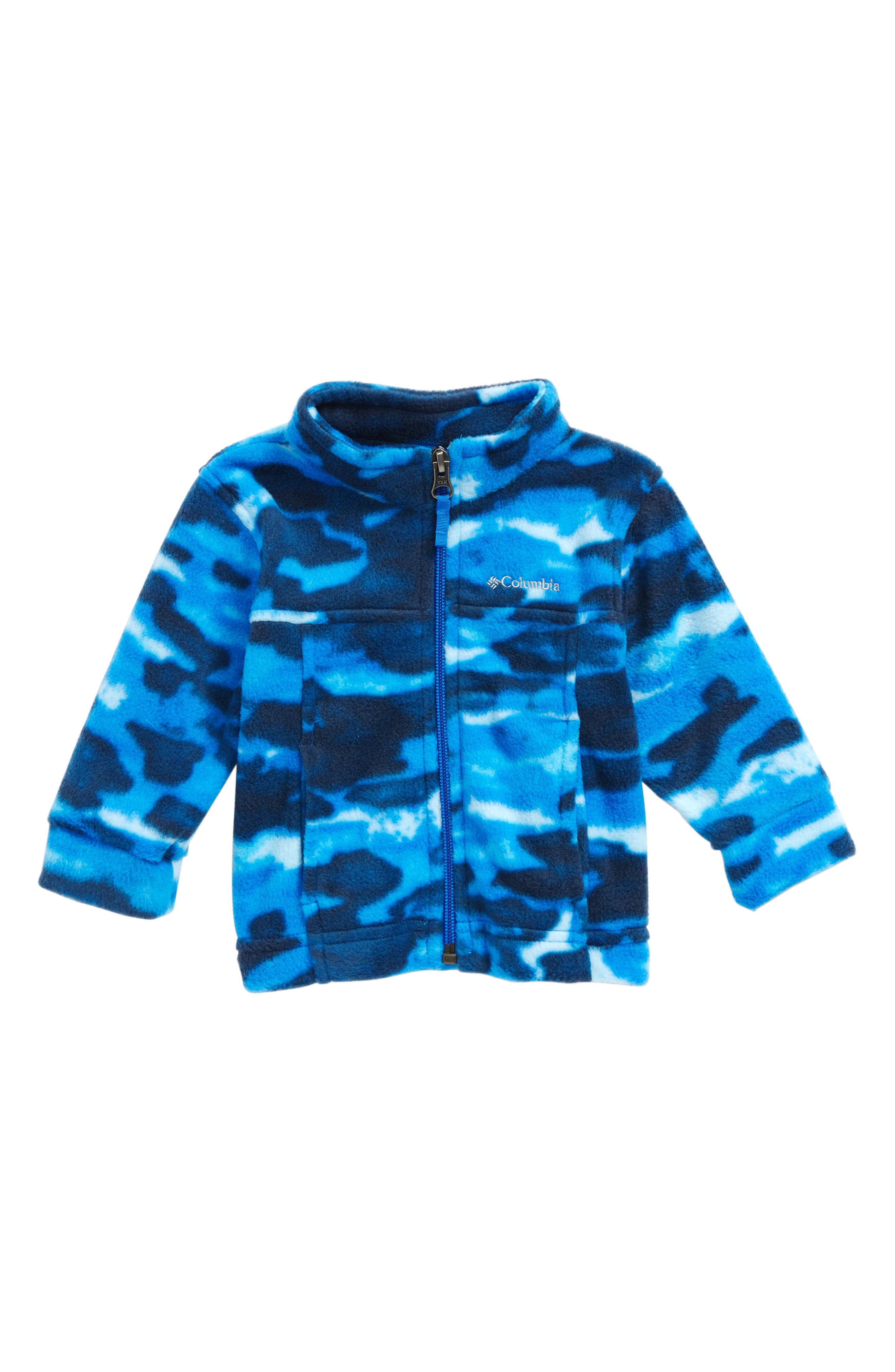 Zing III Fleece Jacket,                         Main,                         color, Super Blue Camo