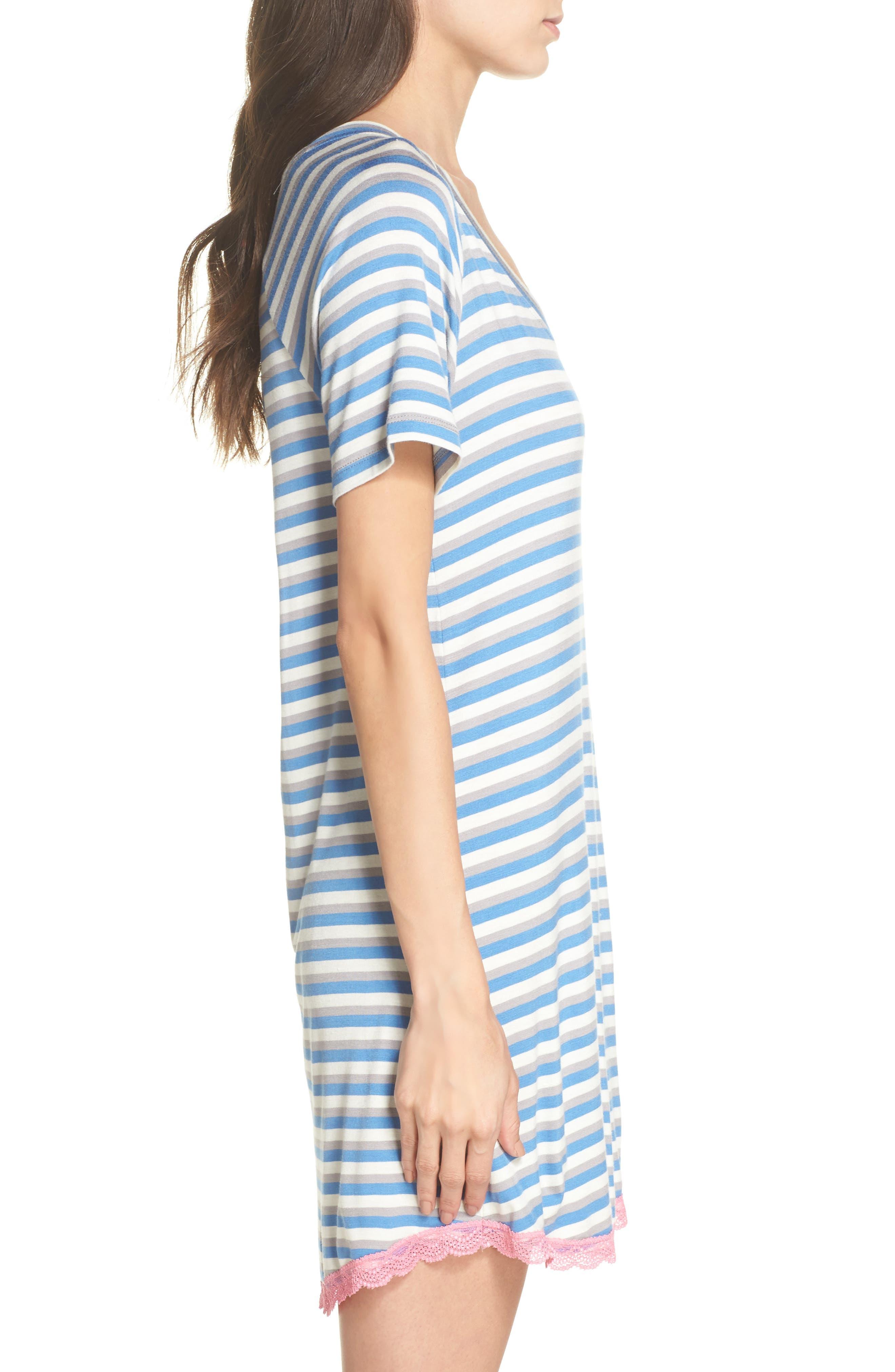 Alternate Image 3  - Honeydew Lace Trim Sleep Shirt (2 for $60)