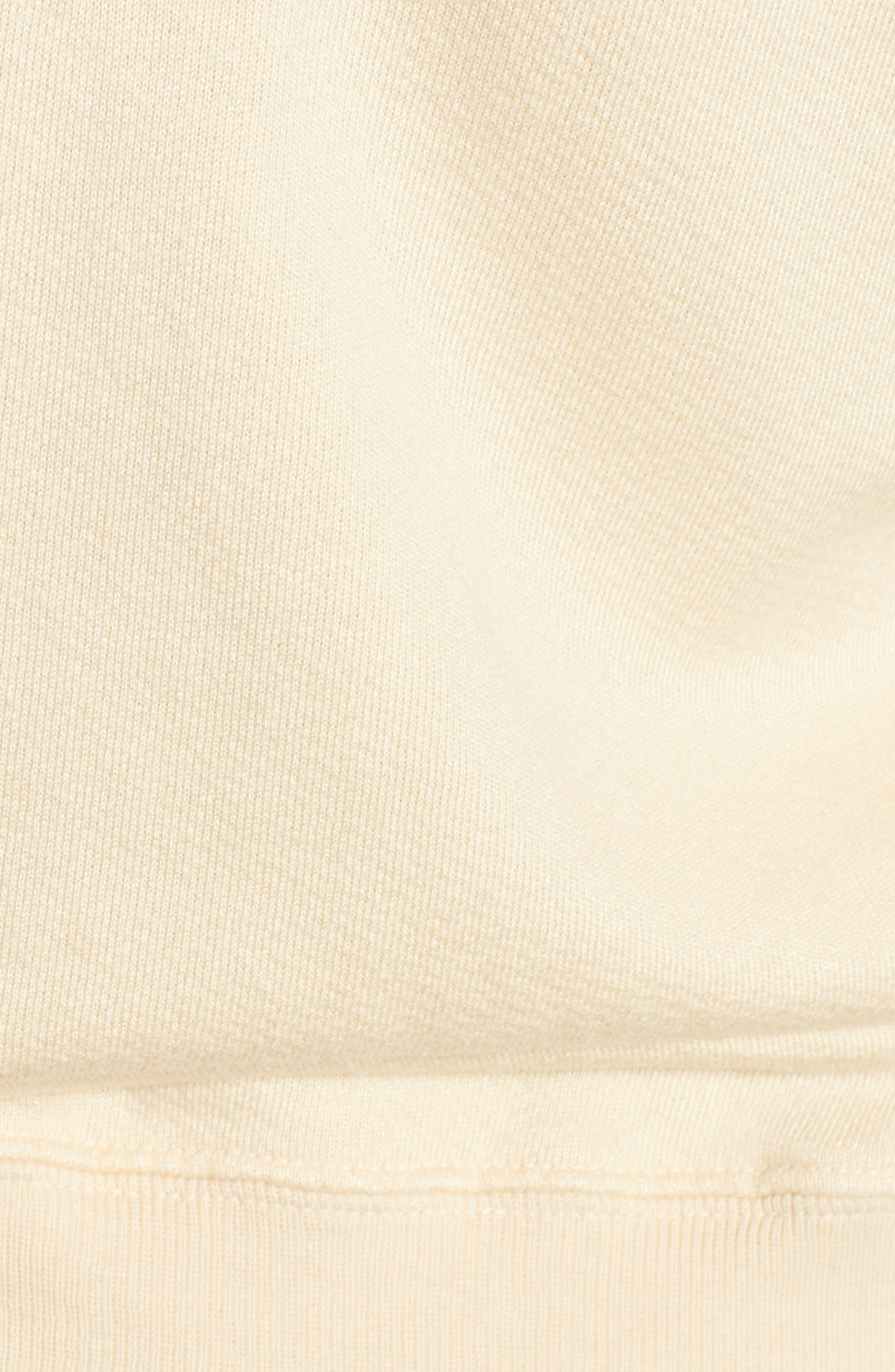 Mayer V-Neck Sweatshirt,                             Alternate thumbnail 5, color,                             Citrus Dust