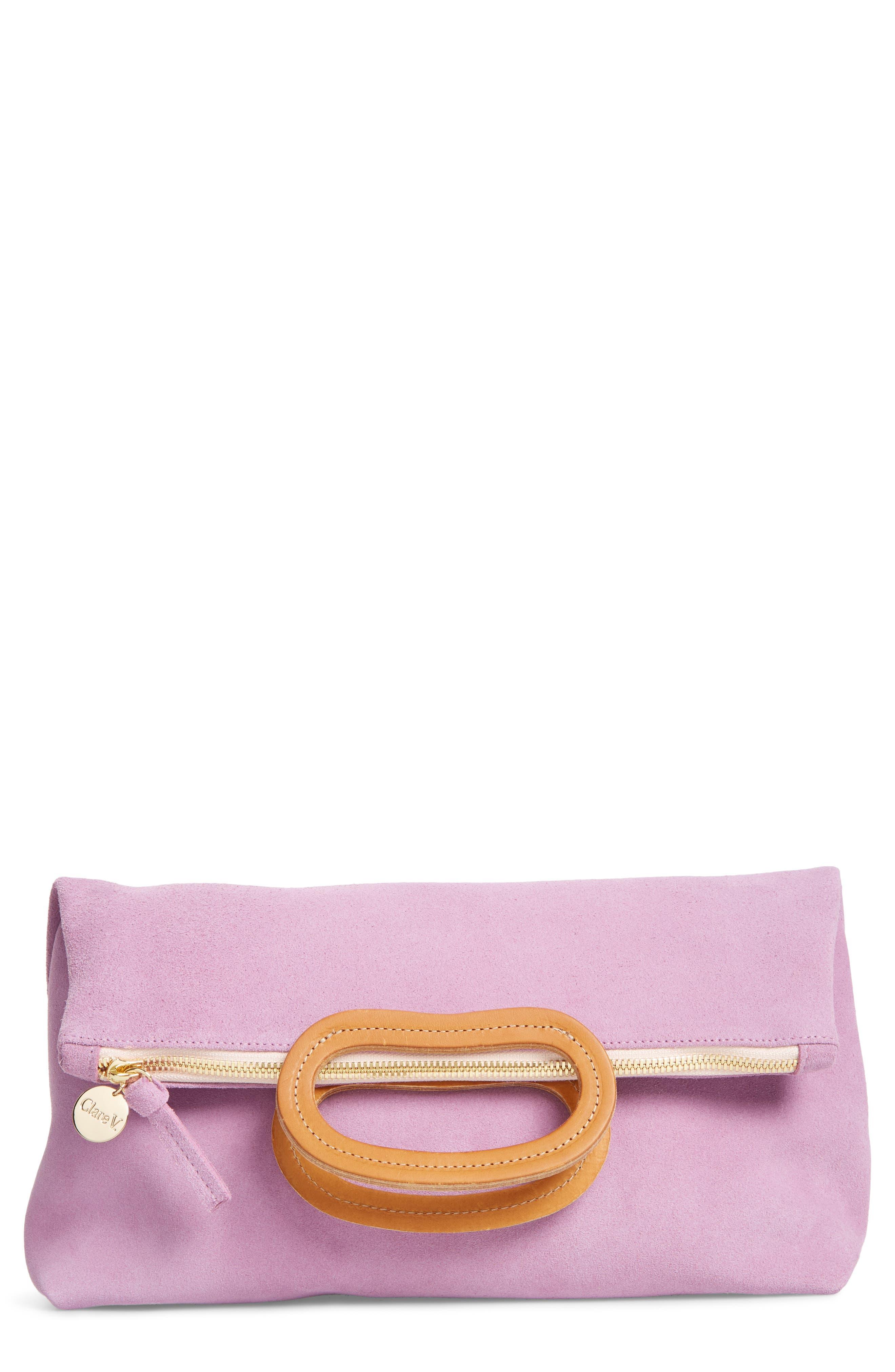 Marcelle Maison Leather Tote,                         Main,                         color, Lavender Suede