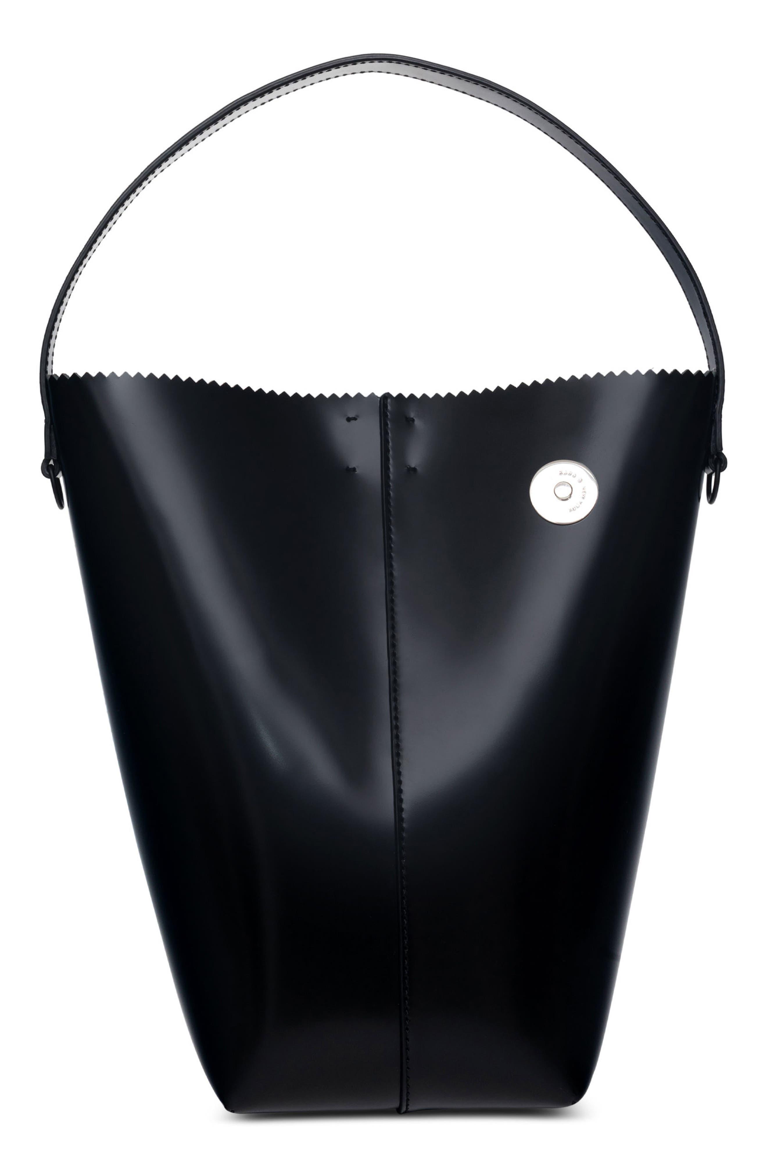 Pinch Pail Bucket Bag,                         Main,                         color, Void Black