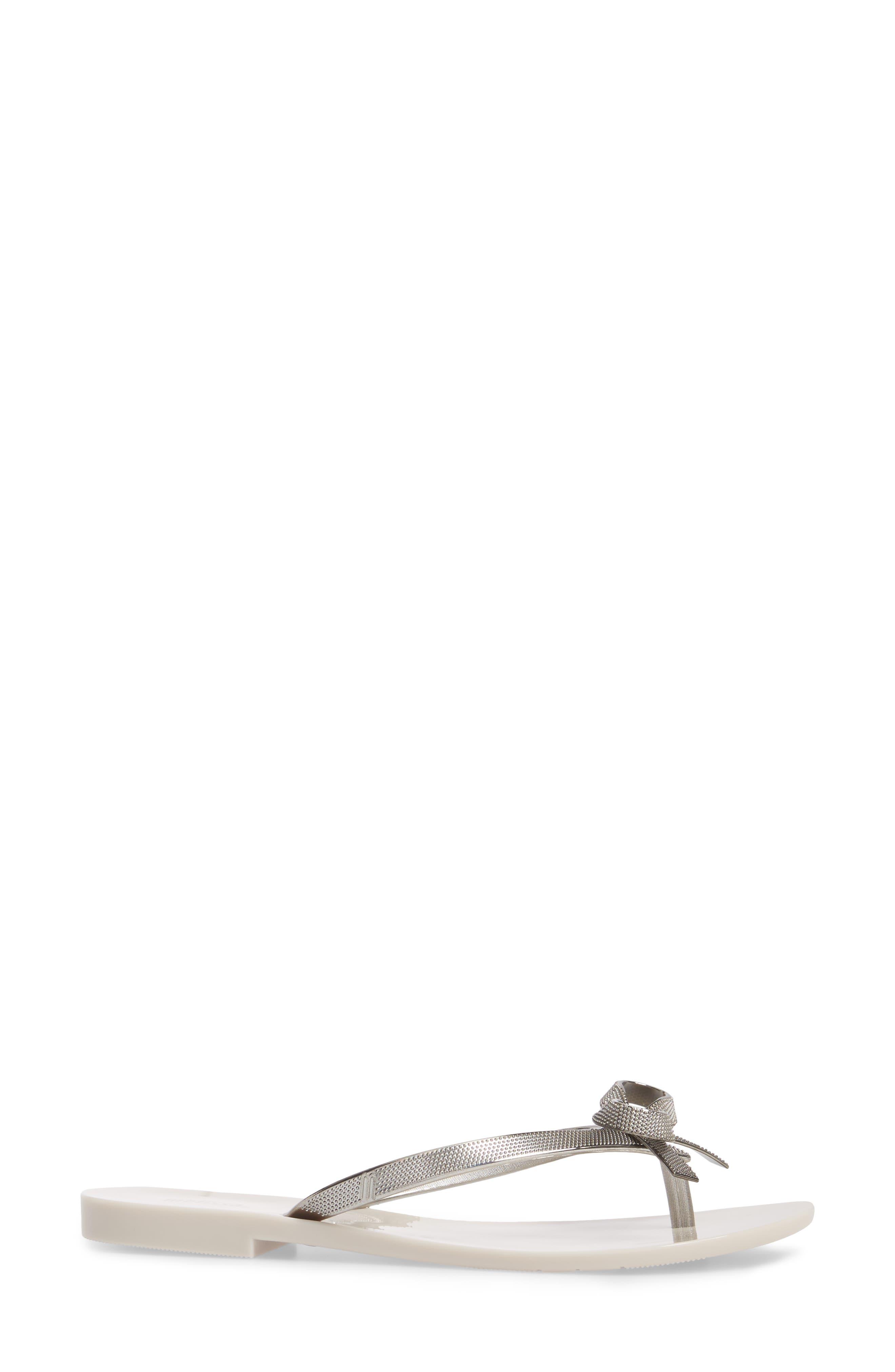 Alternate Image 3  - Melissa Harmonic Bow Chrome II Sandal (Women)