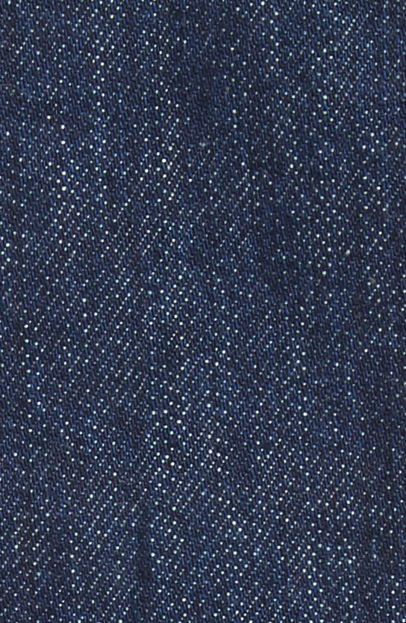 x Andy Warhol Foundation Dennis Hopper Denim Jacket,                             Alternate thumbnail 6, color,                             Blue Molten Lava
