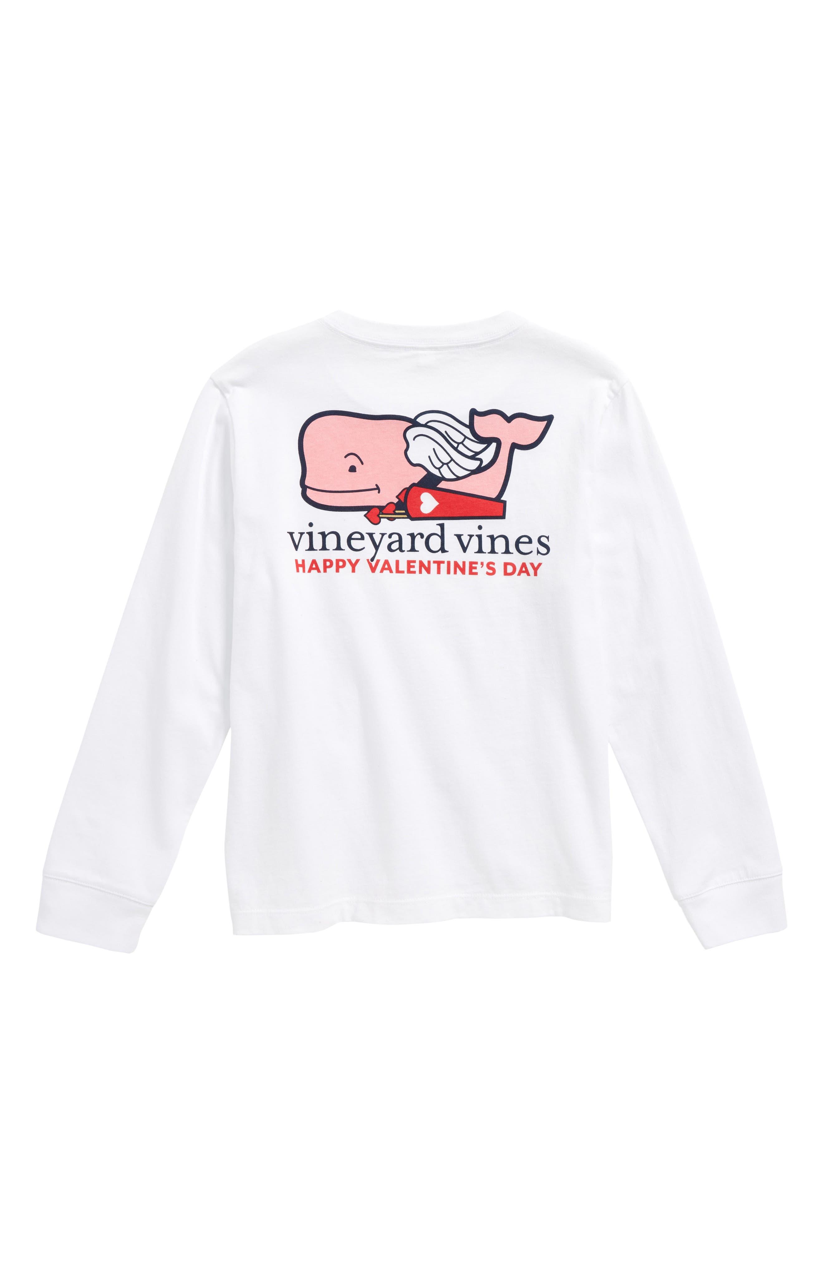 Alternate Image 2  - vineyard vines Cupid Whale Pocket T-Shirt (Big Boys)