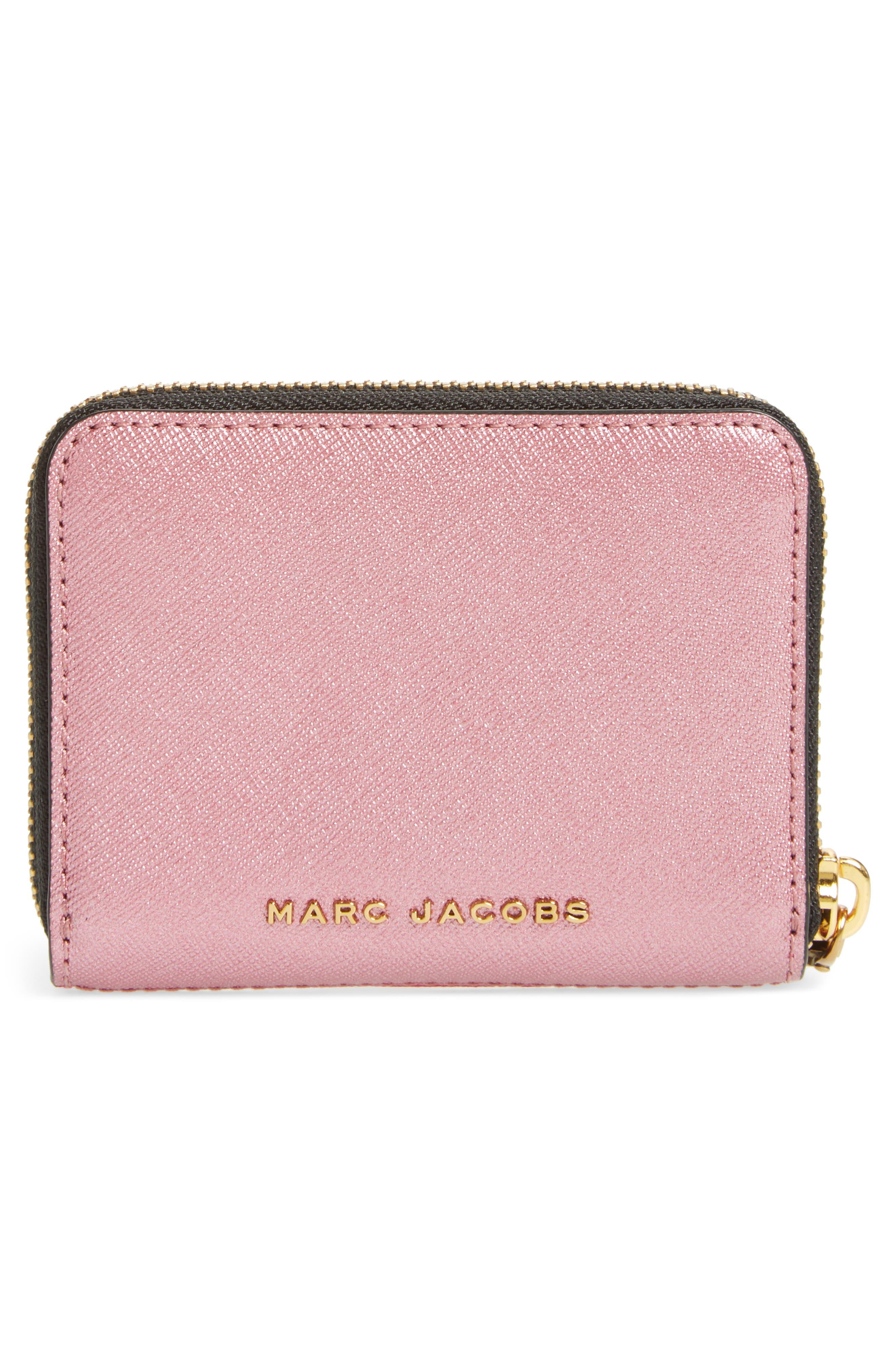 Alternate Image 4  - MARC JACOBS Snapshot Saffiano Leather Zip Around Wallet