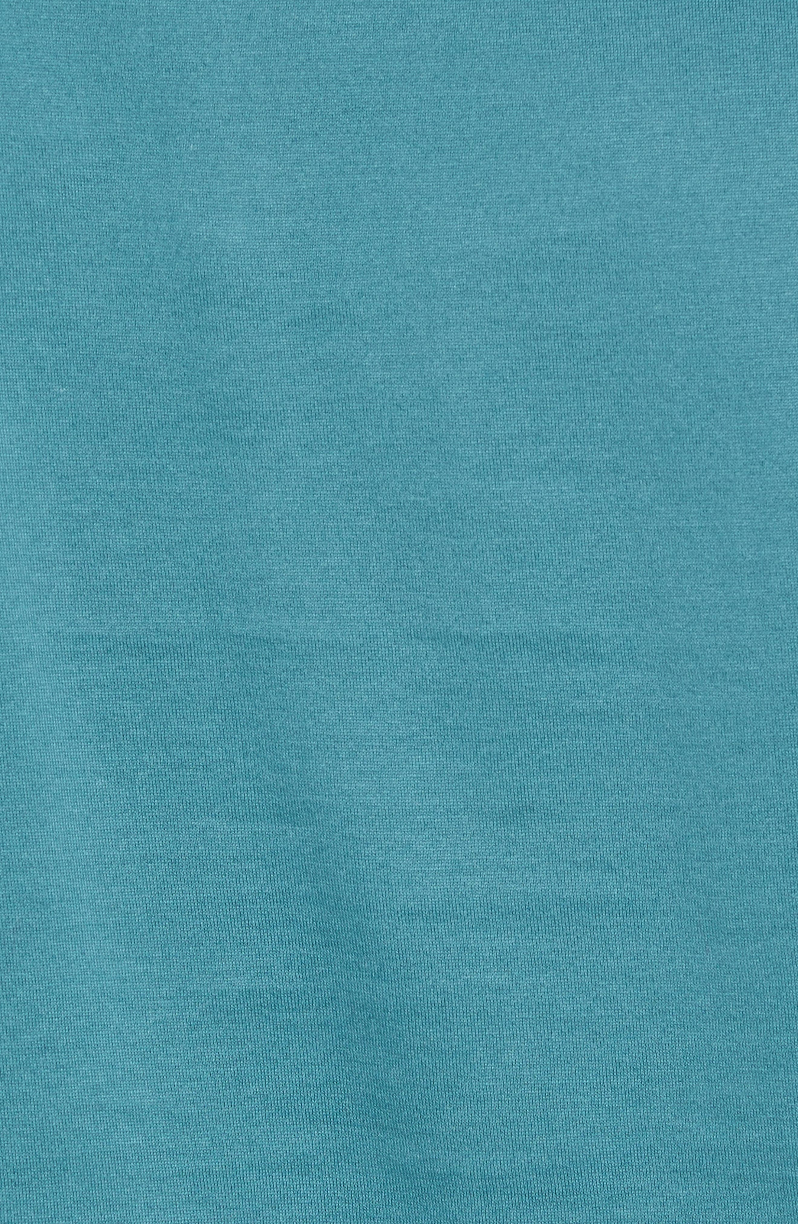 Trim Fit Fashion Polo,                             Alternate thumbnail 5, color,                             Teal Hydro
