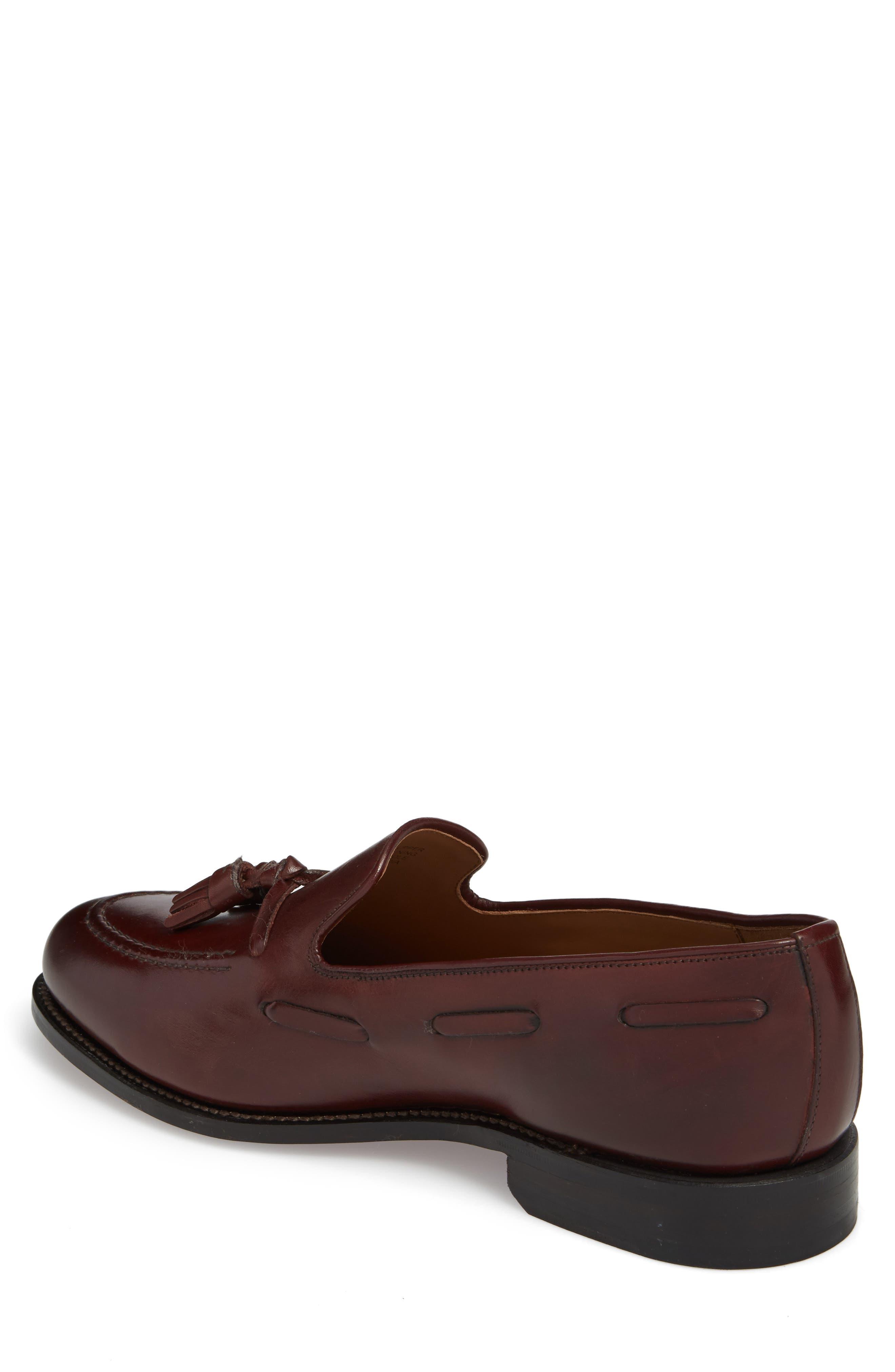 Berkeley Tassel Loafer,                             Alternate thumbnail 2, color,                             Burgundy