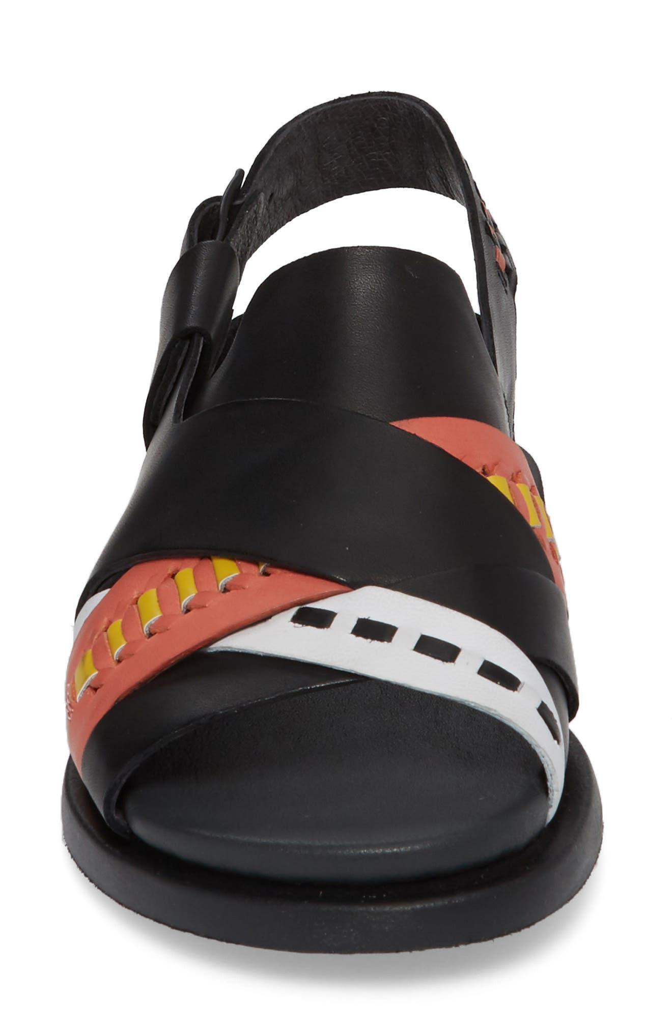 Twins Slingback Sandal,                             Alternate thumbnail 7, color,                             Multi - Assorted Leather