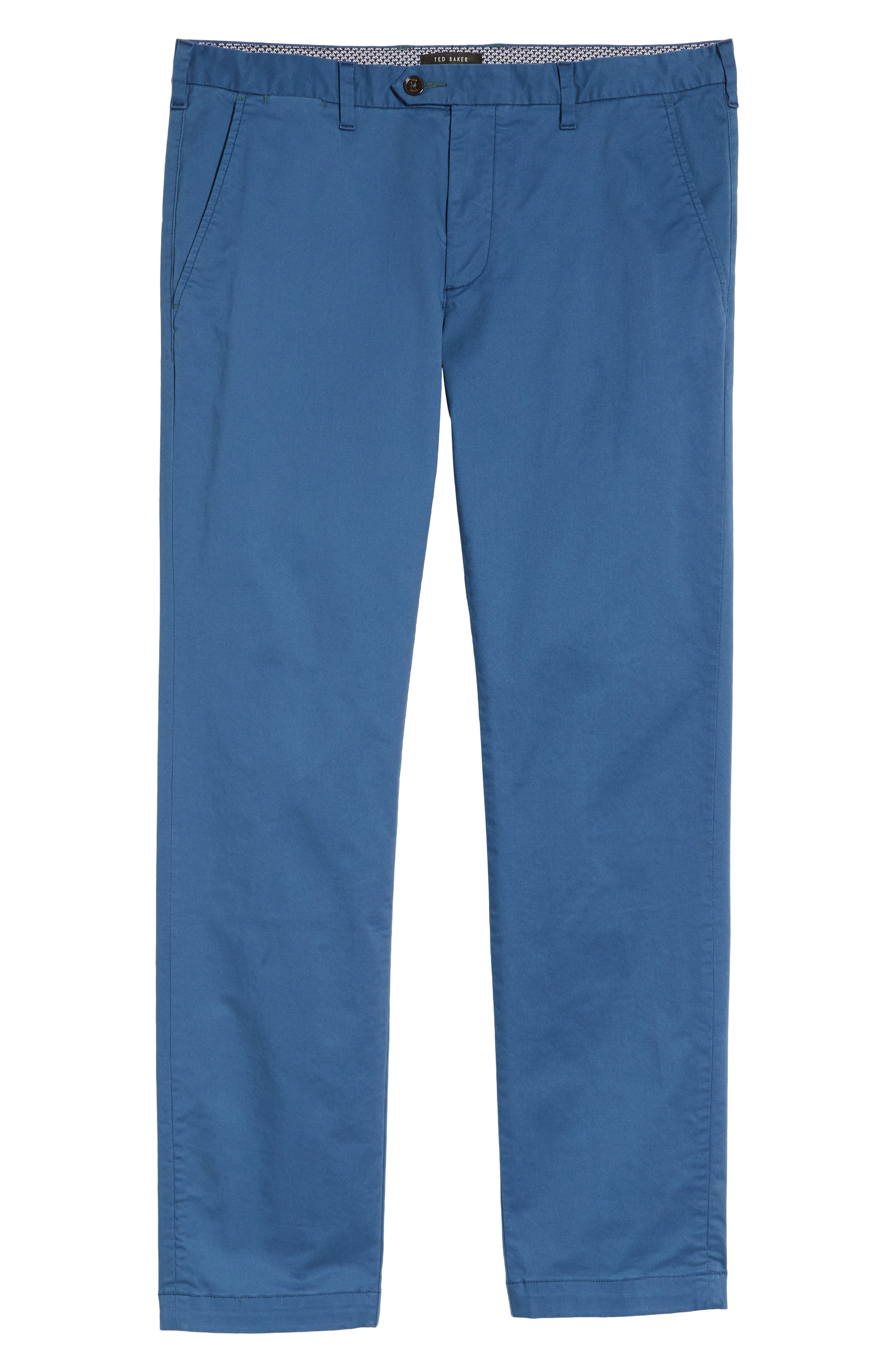 Procor Slim Fit Chino Pants,                             Alternate thumbnail 6, color,                             Navy