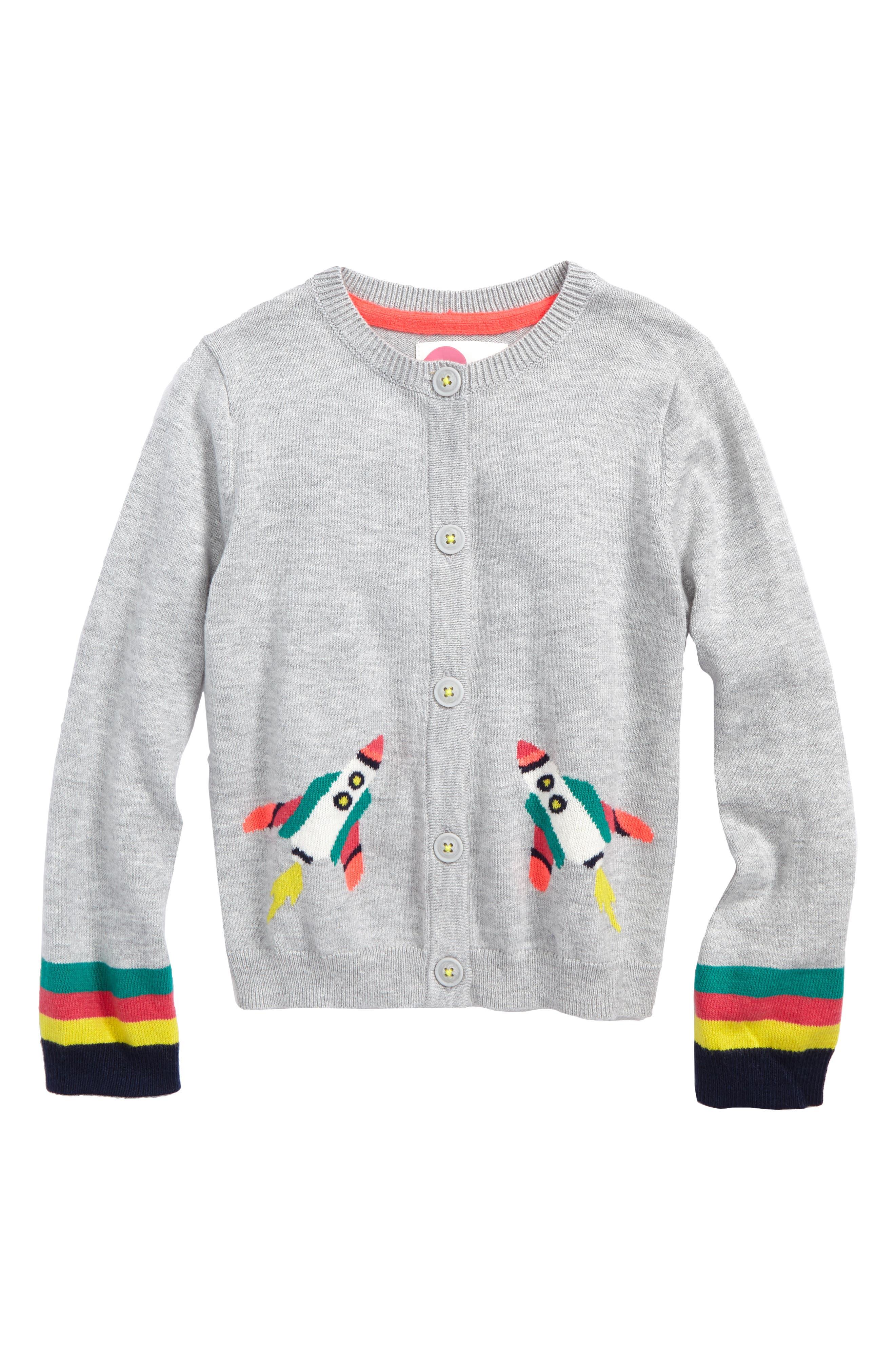Space Cardigan,                         Main,                         color, Grey Marl