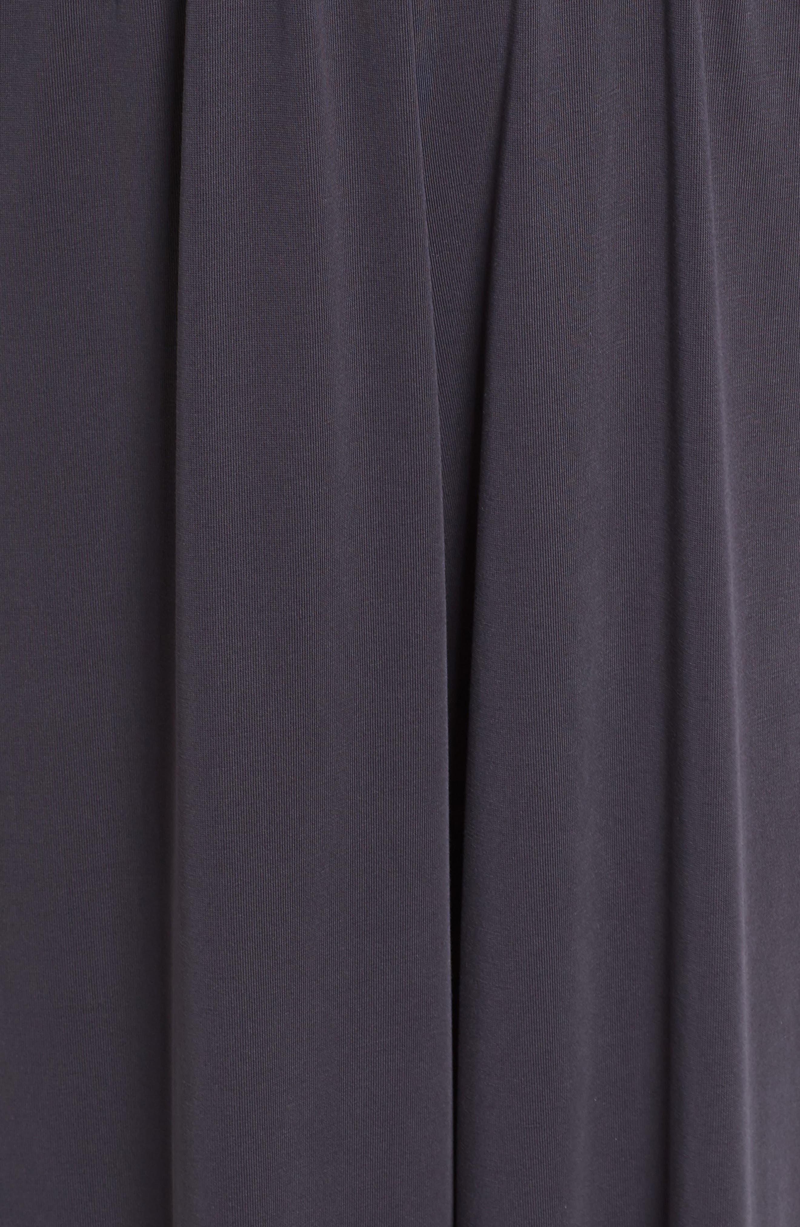 Strappy Jumpsuit,                             Alternate thumbnail 5, color,                             Black