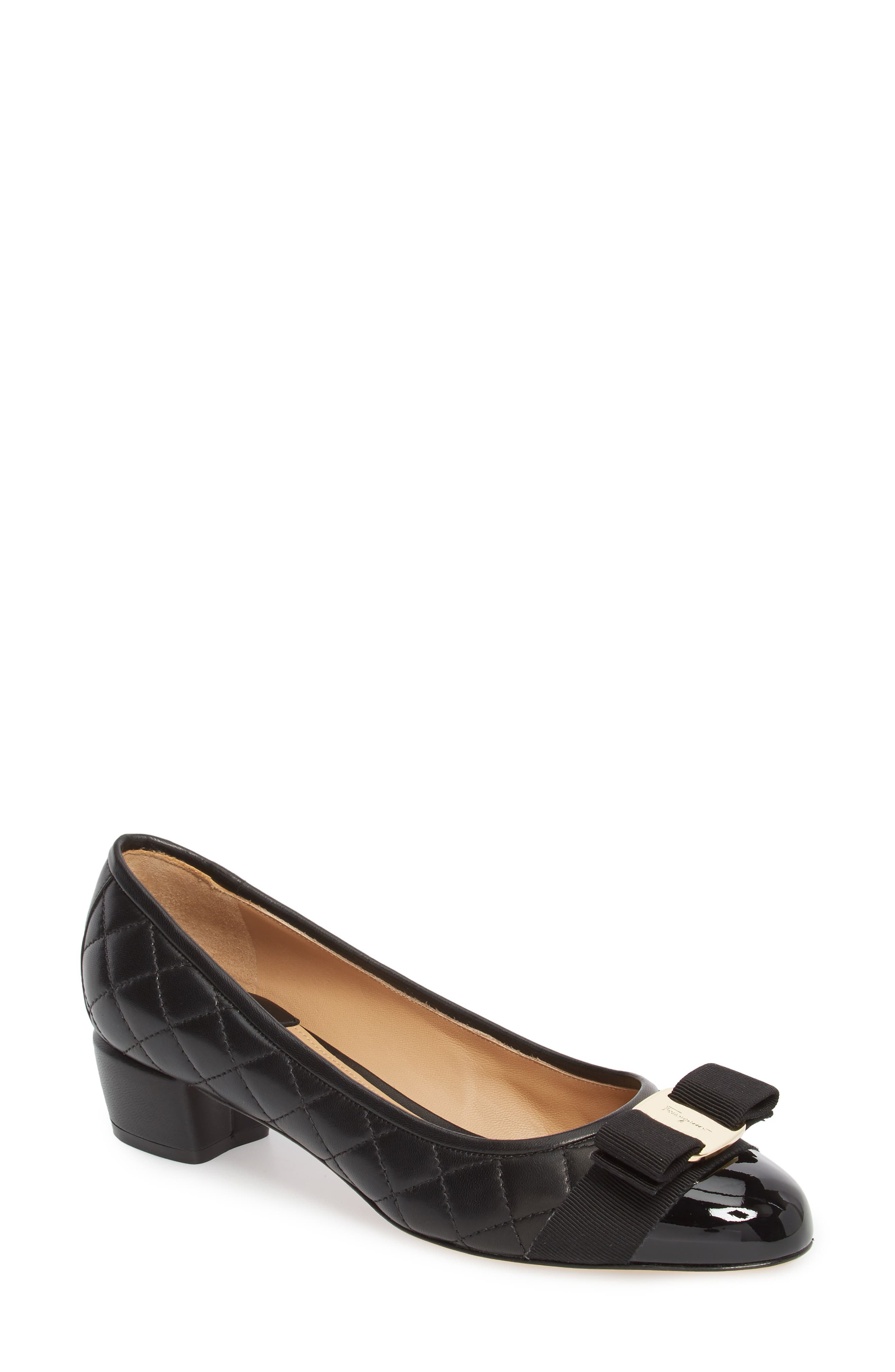 Alternate Image 1 Selected - Salvatore Ferragamo Vara Pump (Women)