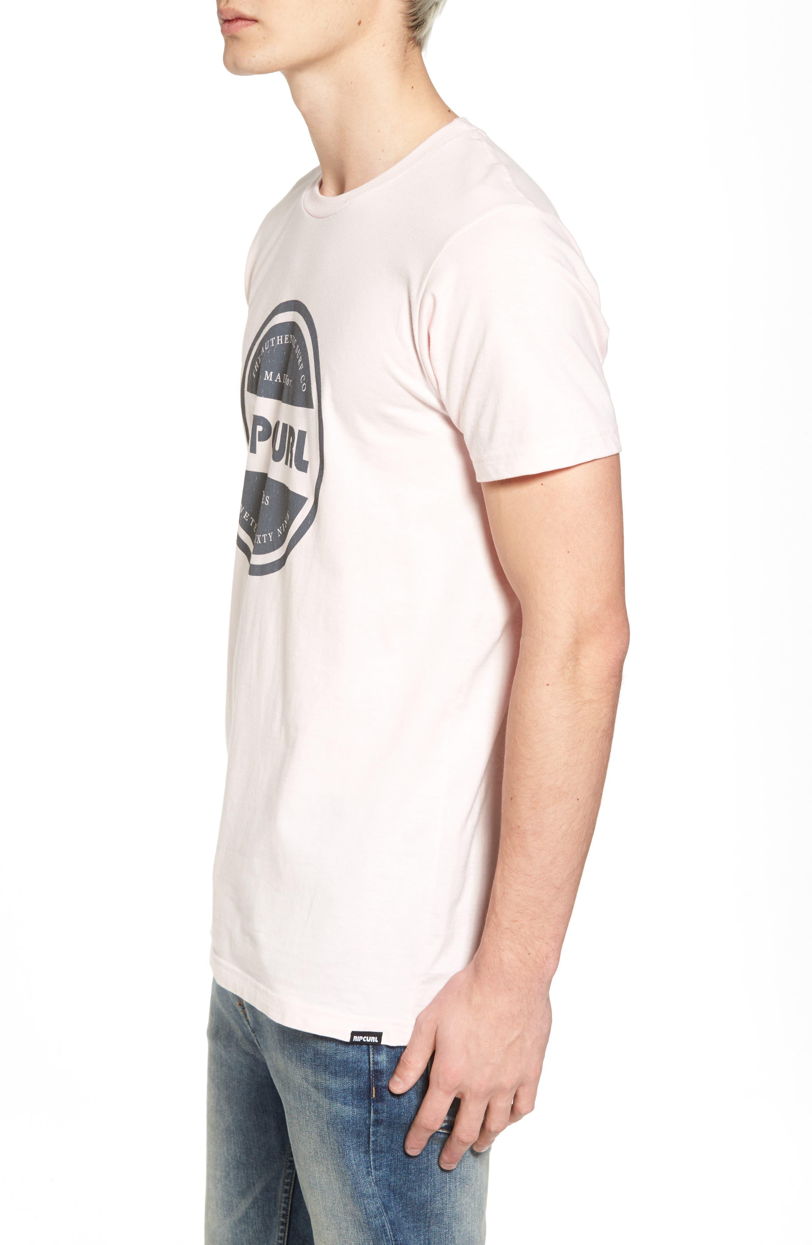 Authentic T-Shirt,                             Alternate thumbnail 3, color,                             Purple