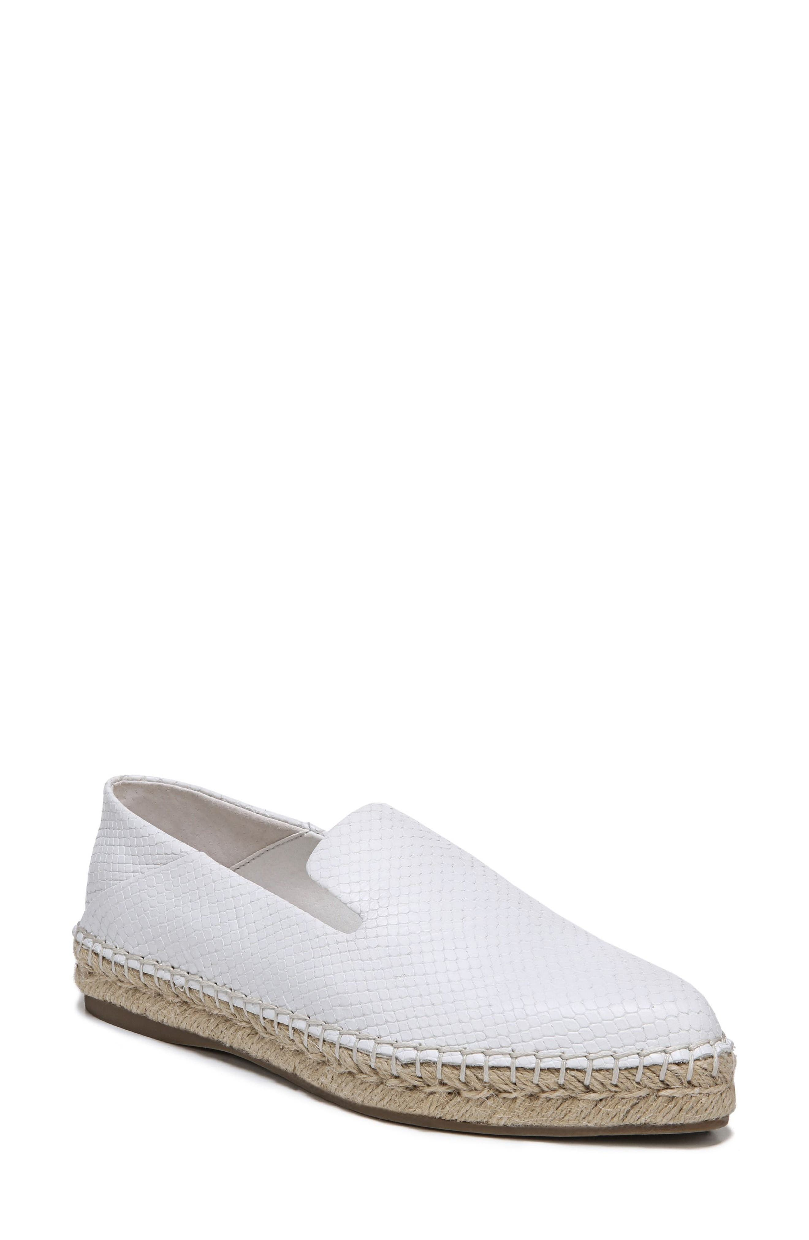 Eviana Espadrille Loafer,                             Main thumbnail 1, color,                             Blanca Snake Print Leather