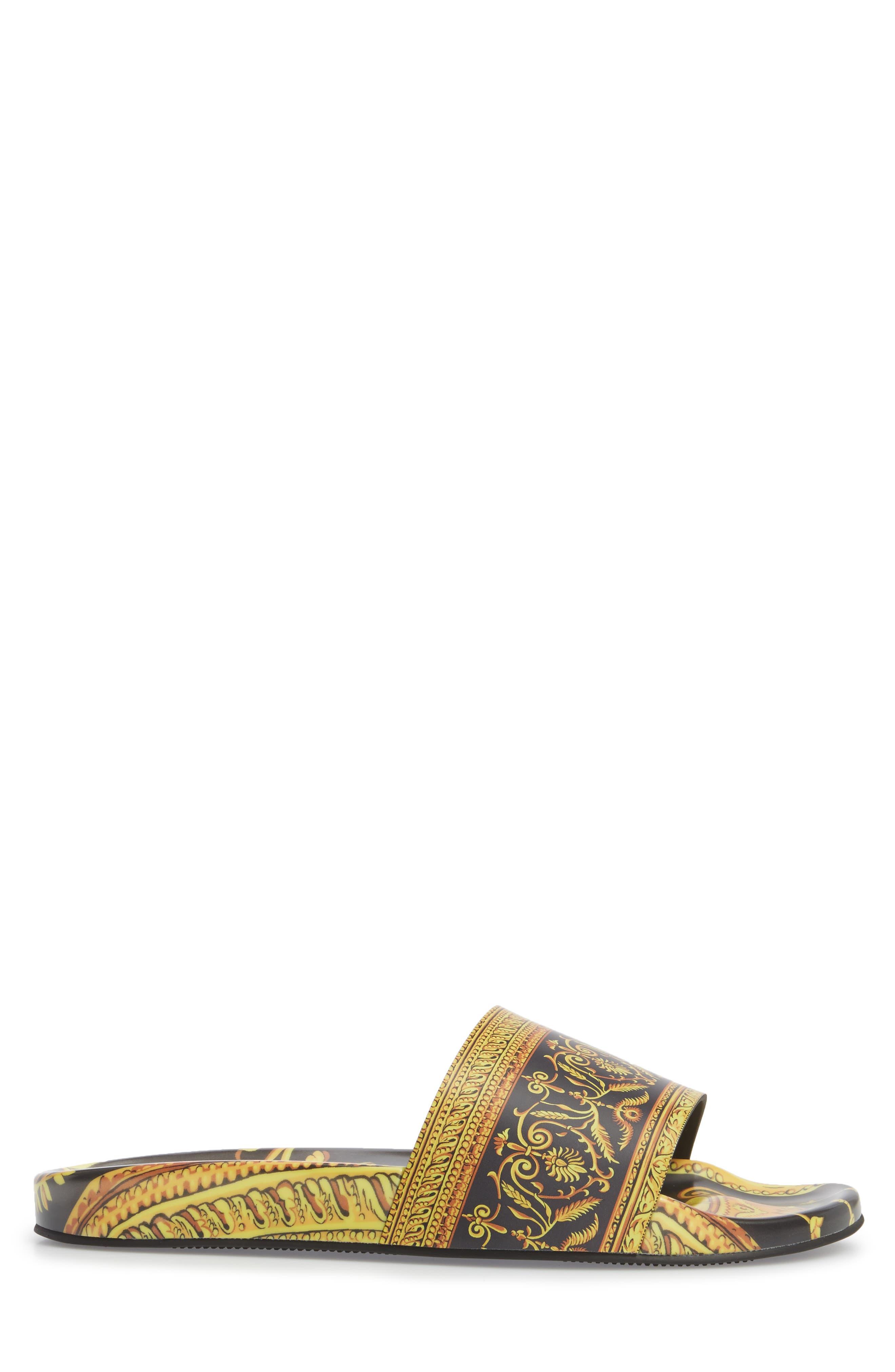Alternate Image 3  - Versace First Line Archive Frames Slide Sandal (Men)