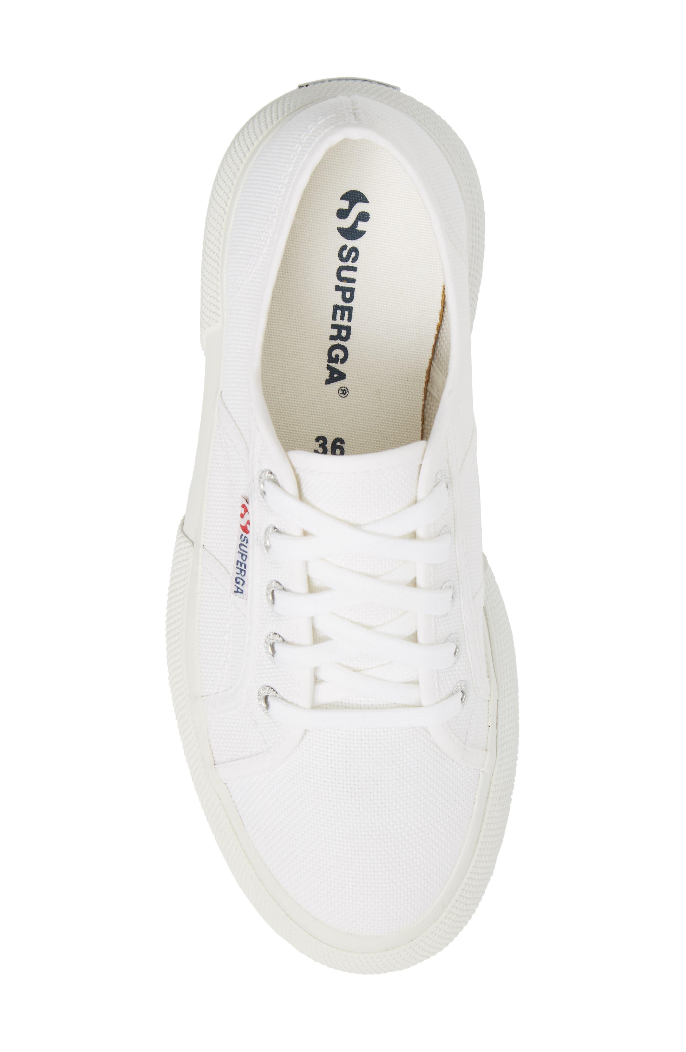2287 Cotu Platform Sneaker,                             Alternate thumbnail 5, color,                             White