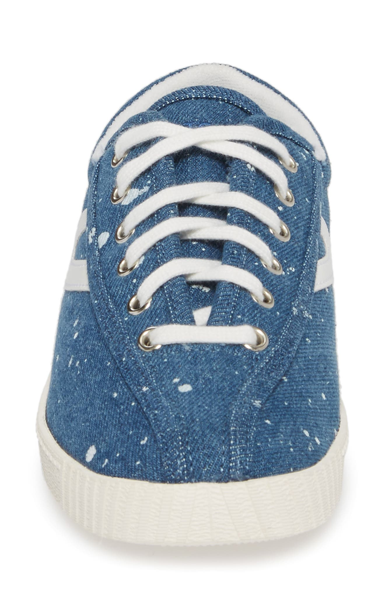 Nylite Plus Sneaker,                             Alternate thumbnail 4, color,                             Blue Fabric