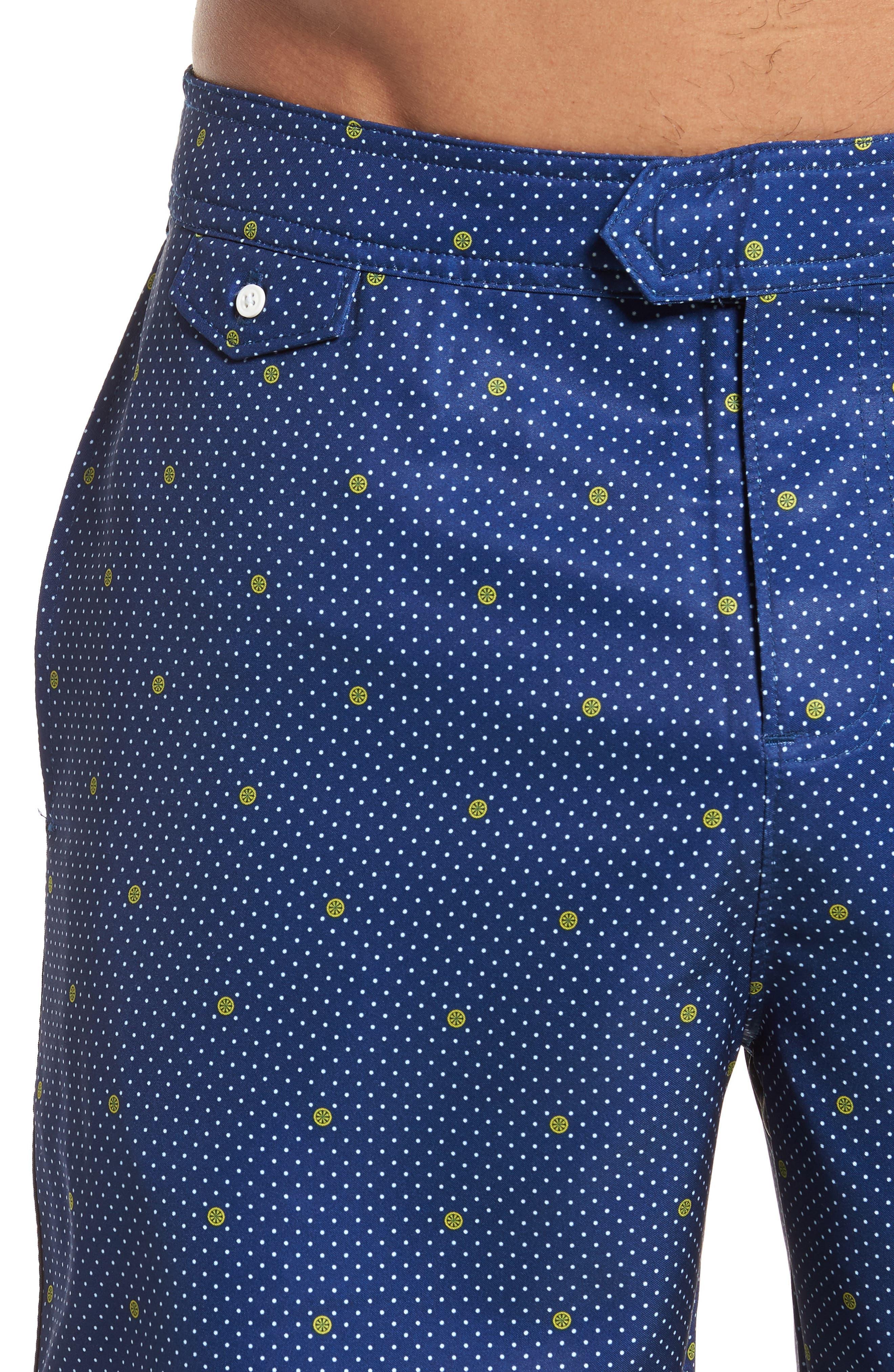 Alternate Image 4  - Original Penguin Polka Dot Lemon Volley Board Shorts