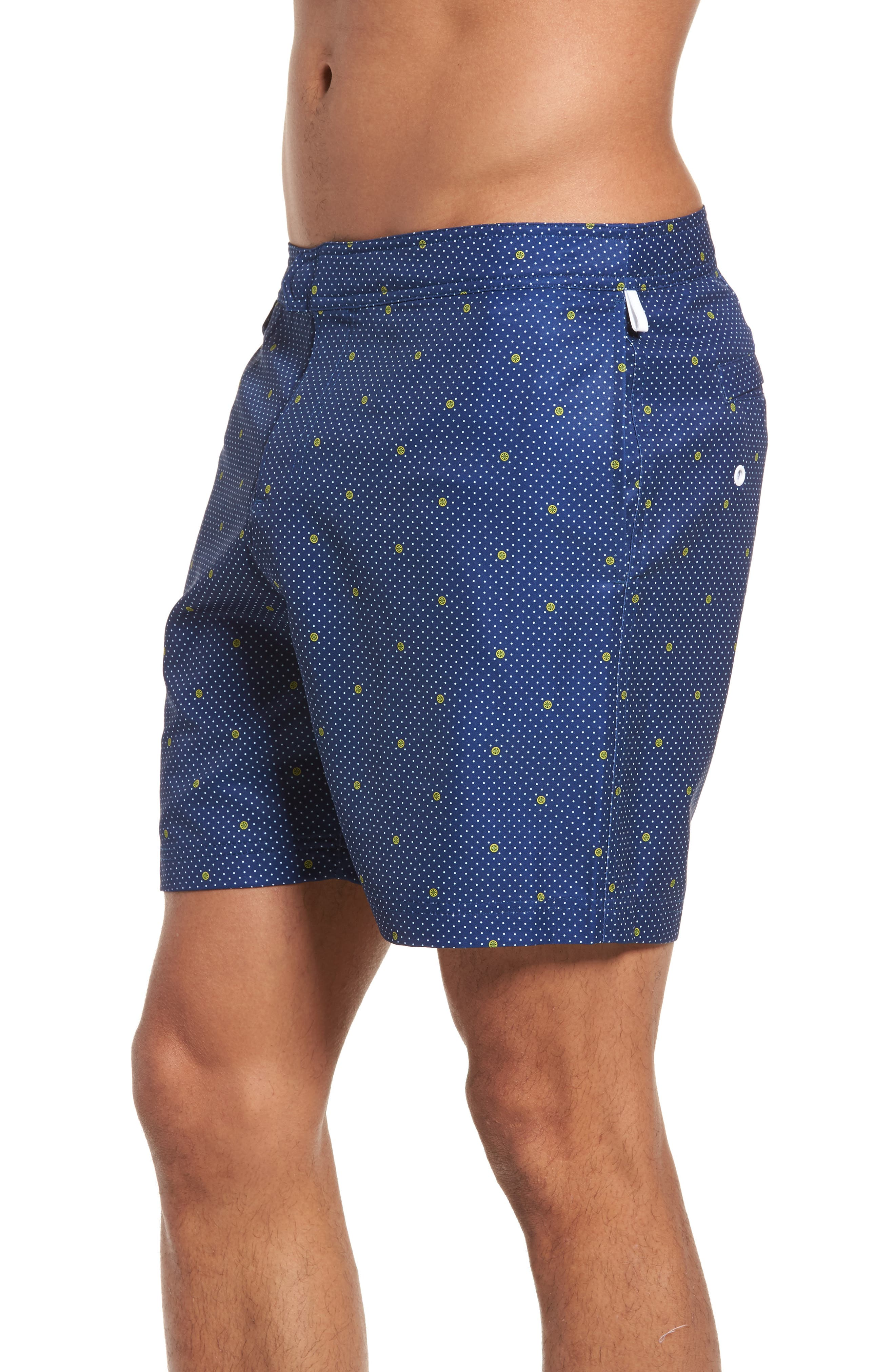 Alternate Image 3  - Original Penguin Polka Dot Lemon Volley Board Shorts
