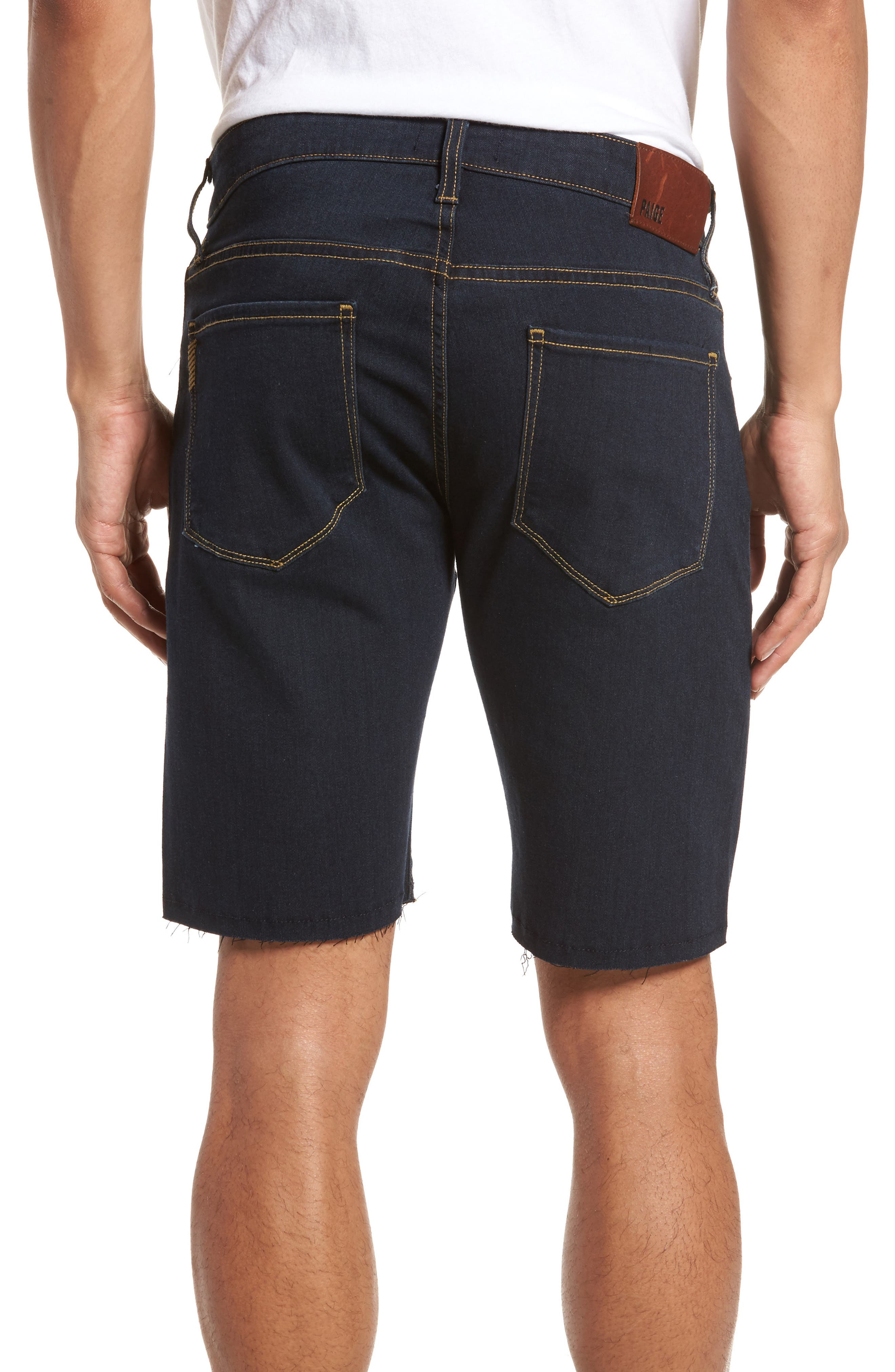 Transcend - Federal Slim Straight Leg Denim Shorts,                             Alternate thumbnail 2, color,                             Ames