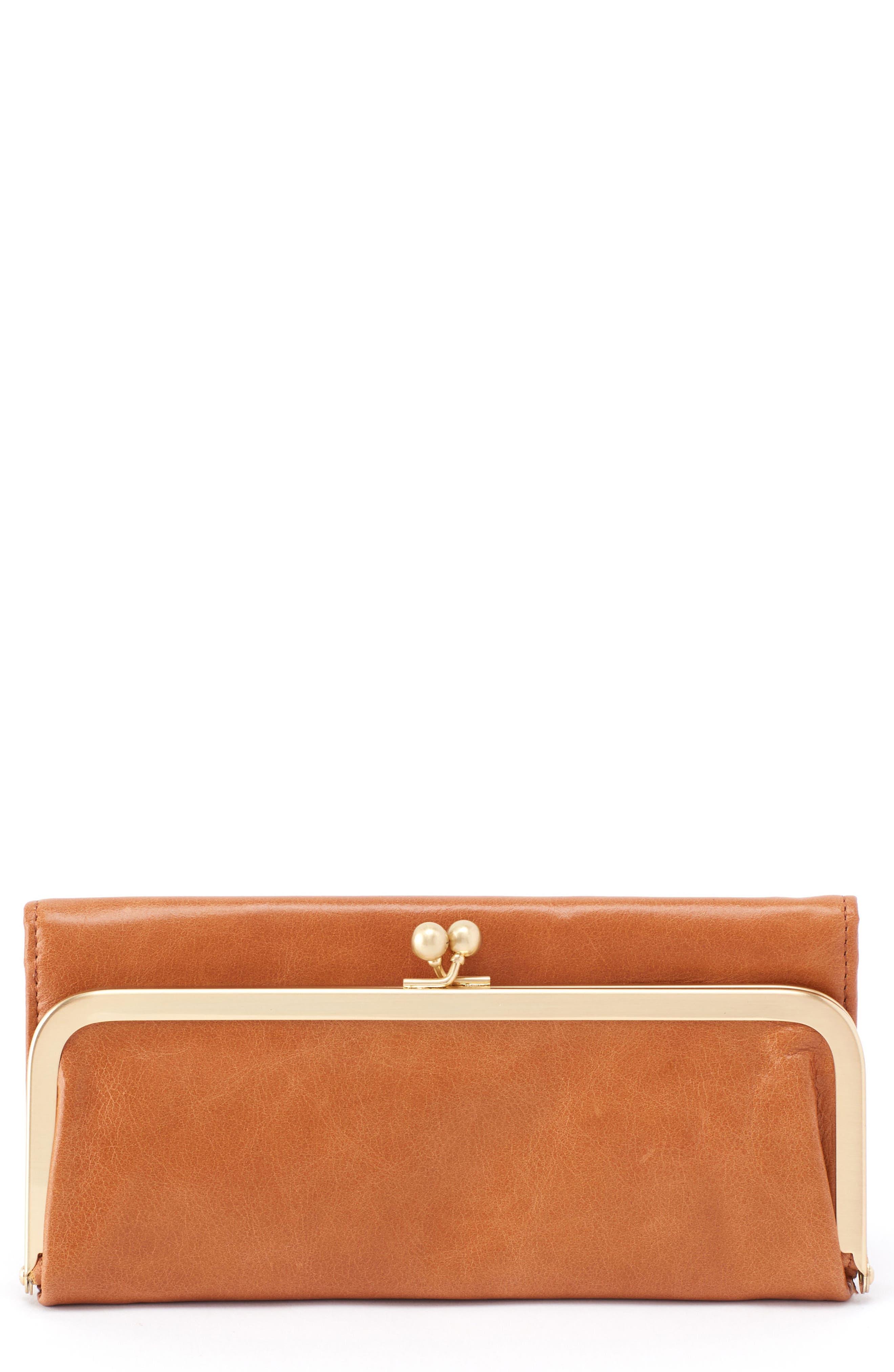 Main Image - Hobo 'Rachel' Frame Wallet