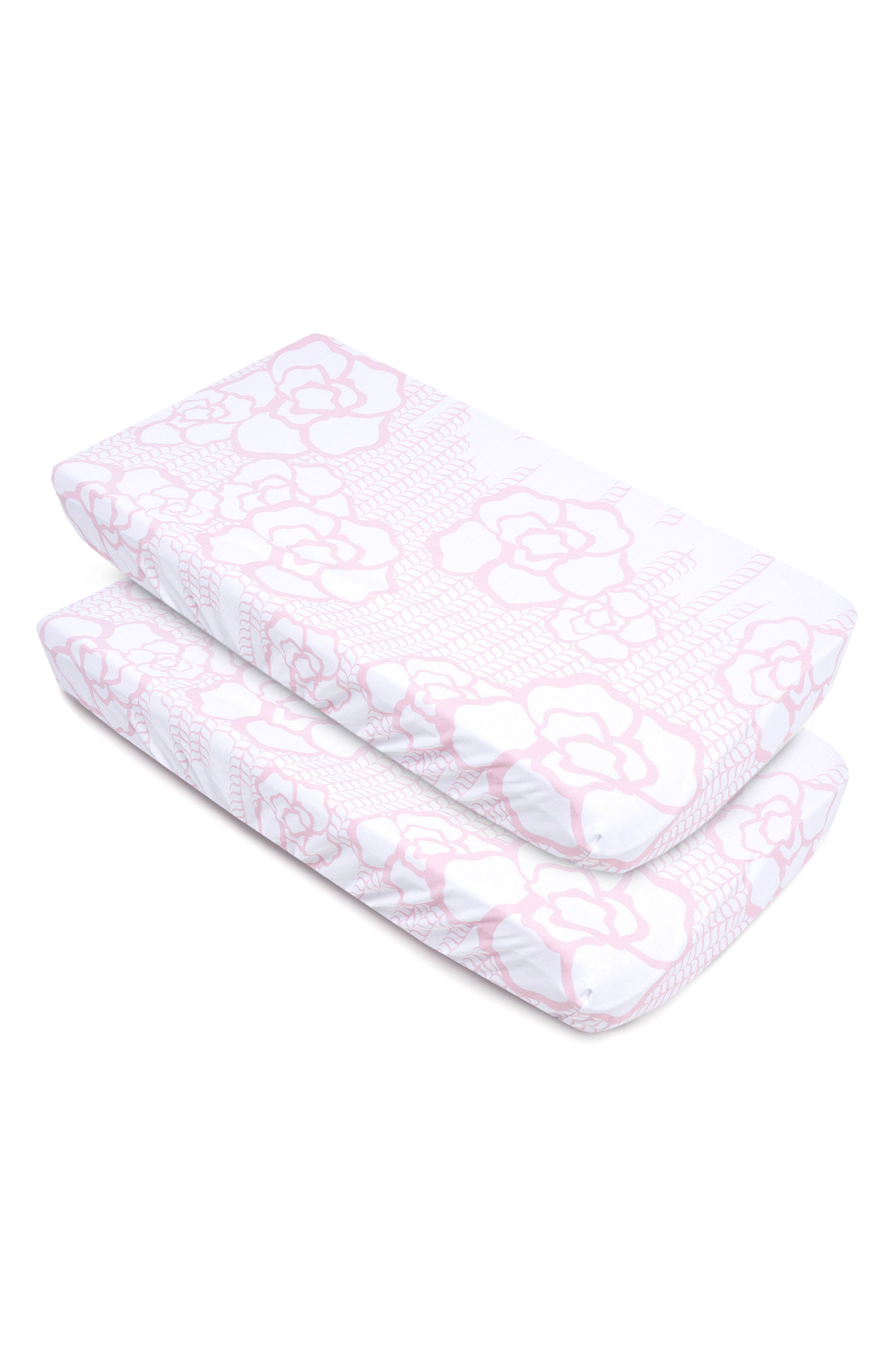 Oilo Capri 2-Pack Jersey Changing Pad Covers