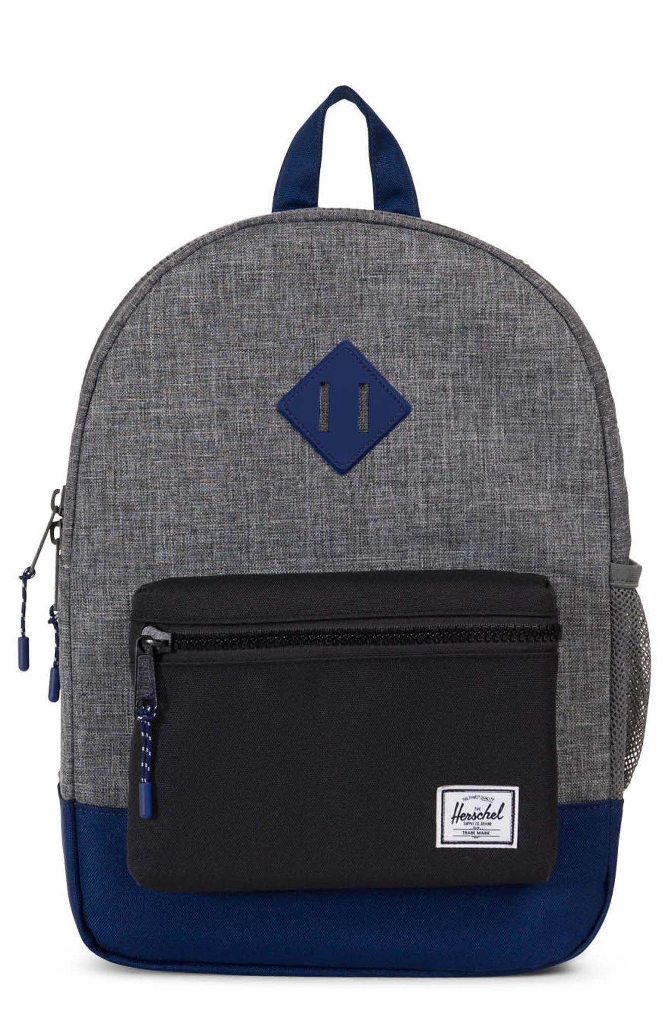Heritage Backpack,                             Main thumbnail 1, color,                             Raven/ Black