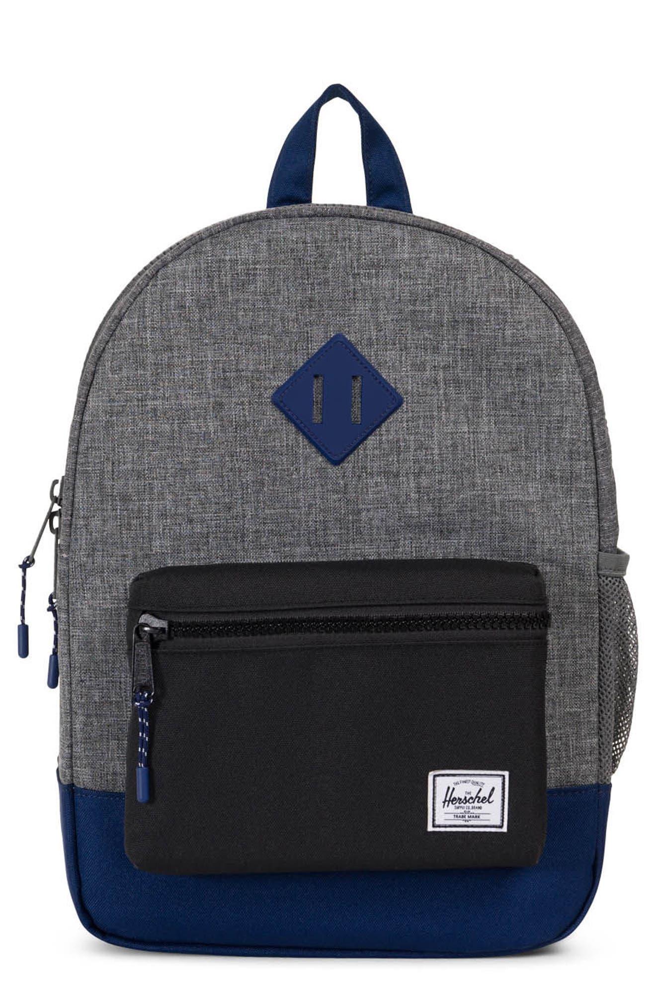 Heritage Backpack,                         Main,                         color, Raven/ Black