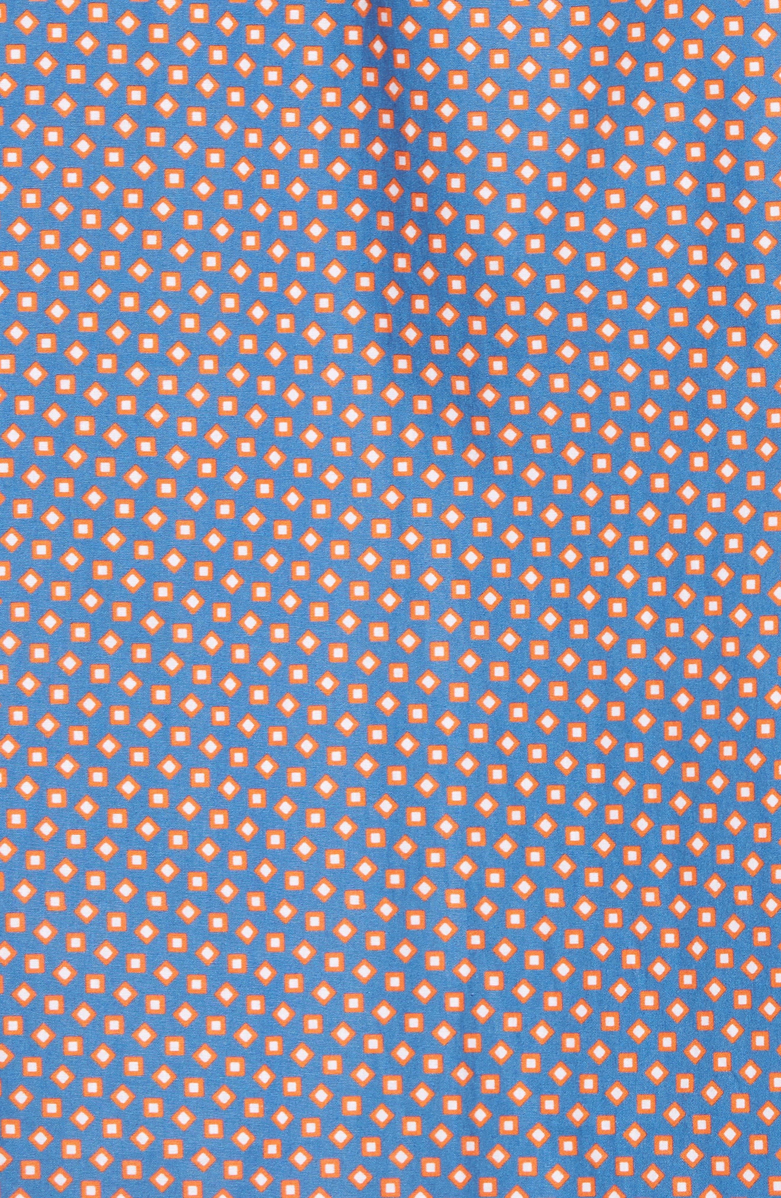 Alternate Image 5  - Bugatchi Slim Fit Print Sport Shirt
