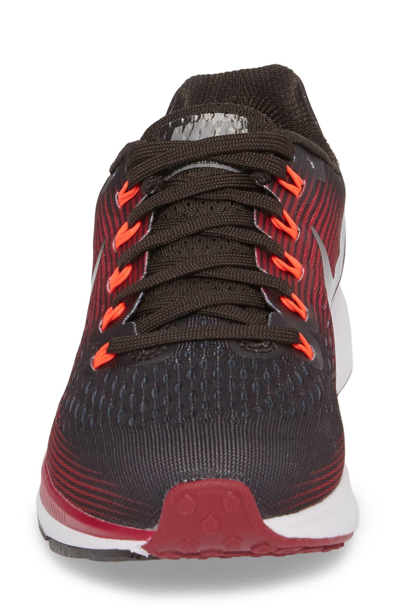 Air Zoom Pegasus 34 Gem Running Shoe,                             Alternate thumbnail 4, color,                             Shadow Brown/ Pewter