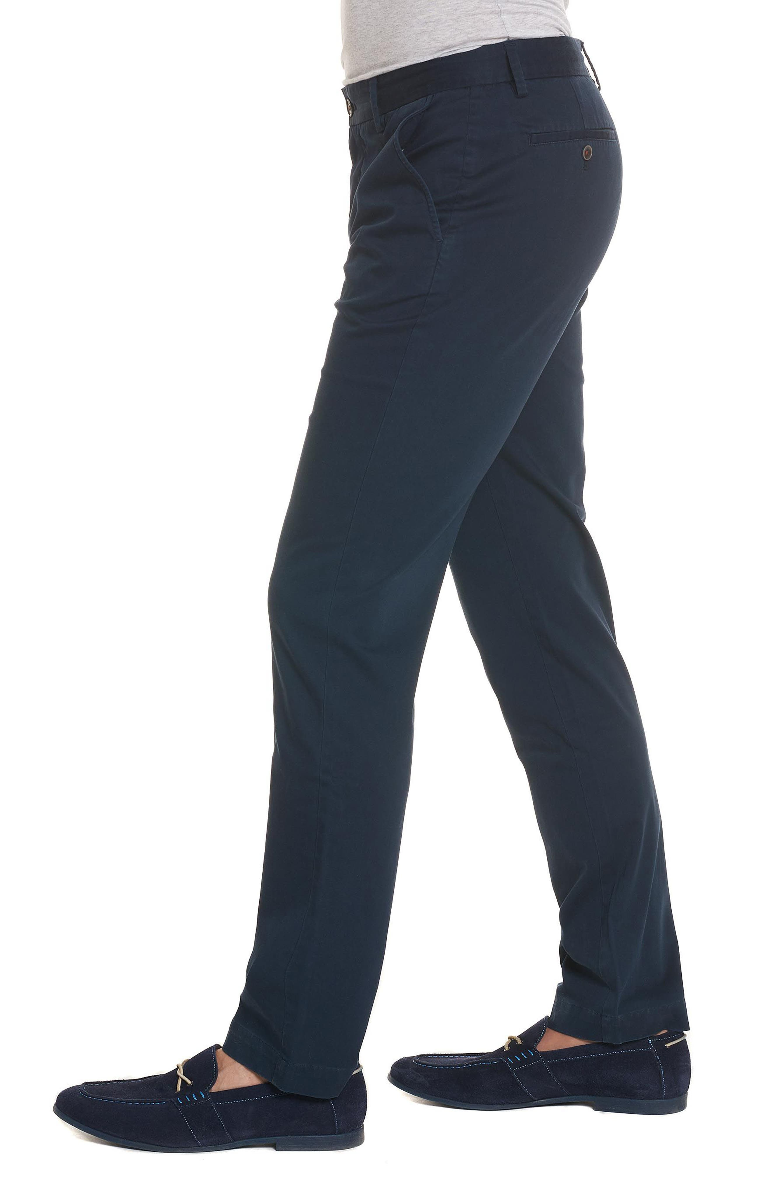 Burton Tailored Fit Pants,                             Alternate thumbnail 3, color,                             Navy