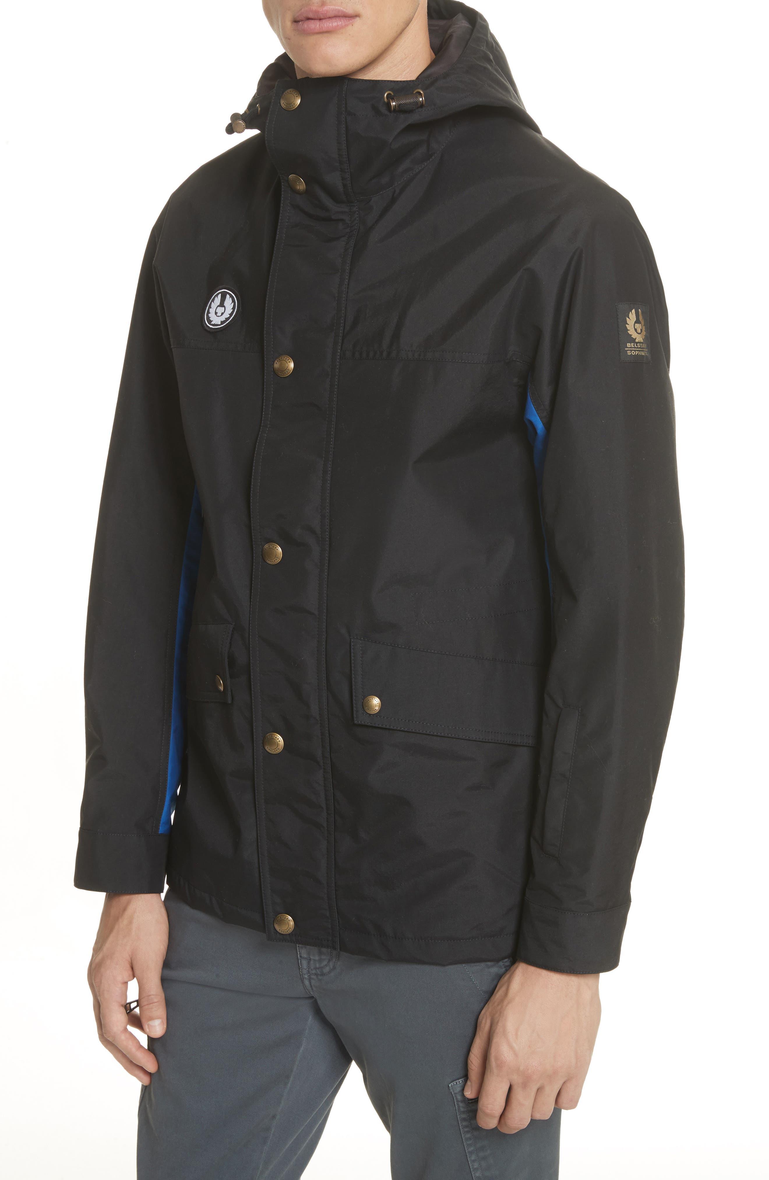 Kersbrook BXS Nylon Jacket,                             Alternate thumbnail 4, color,                             Black