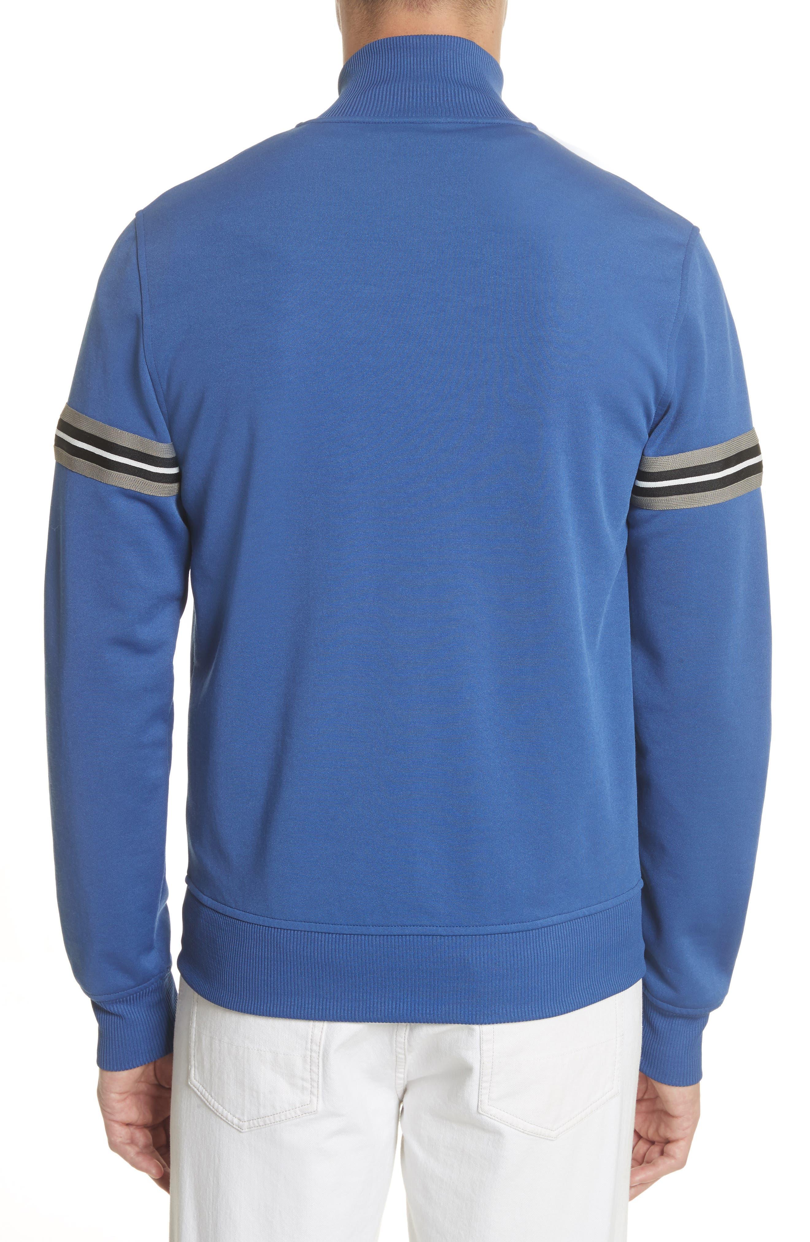 Helmsdale Track Jacket,                             Alternate thumbnail 2, color,                             Deep Electric Blue