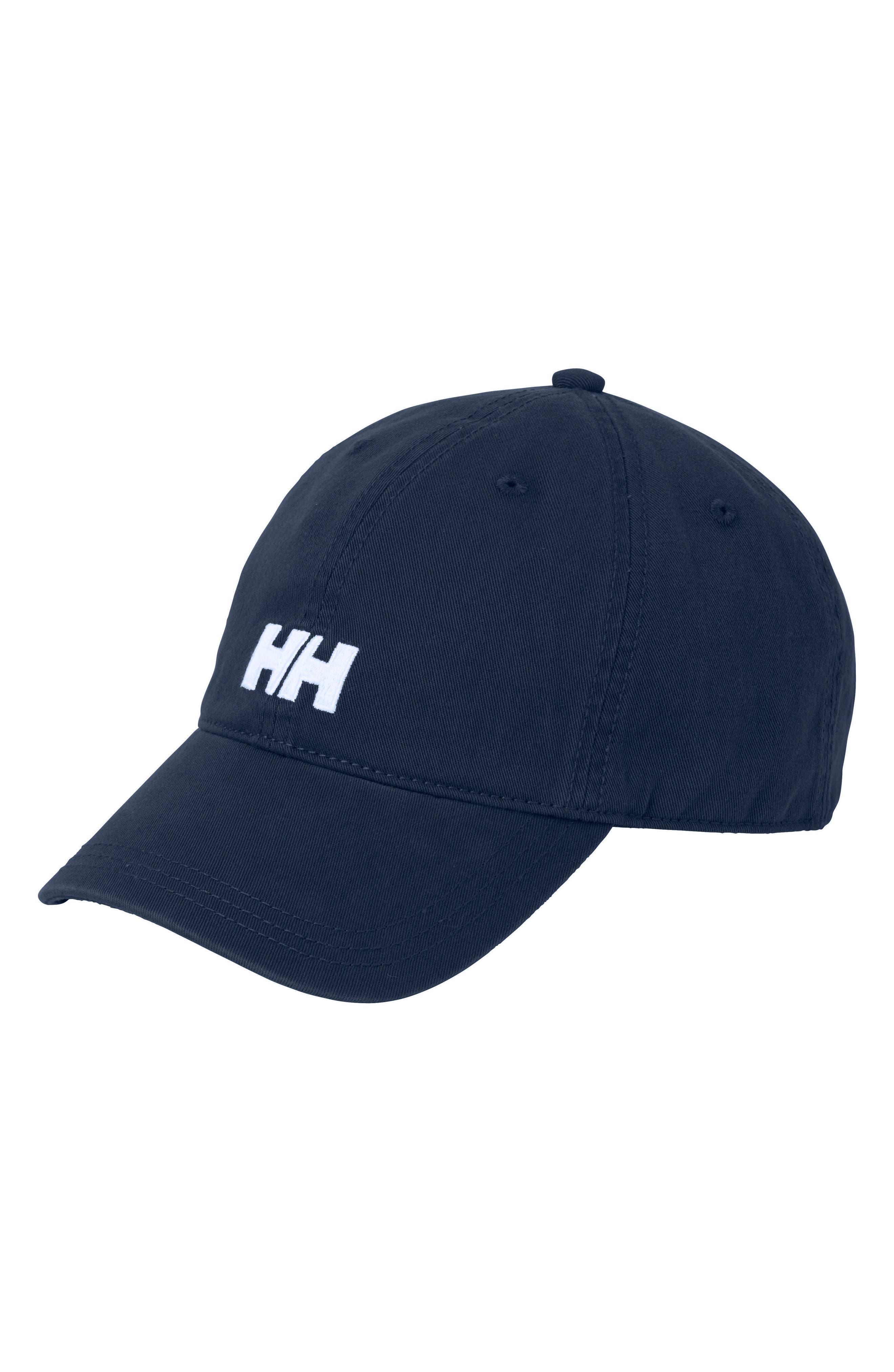 Logo Baseball Cap,                         Main,                         color, Navy