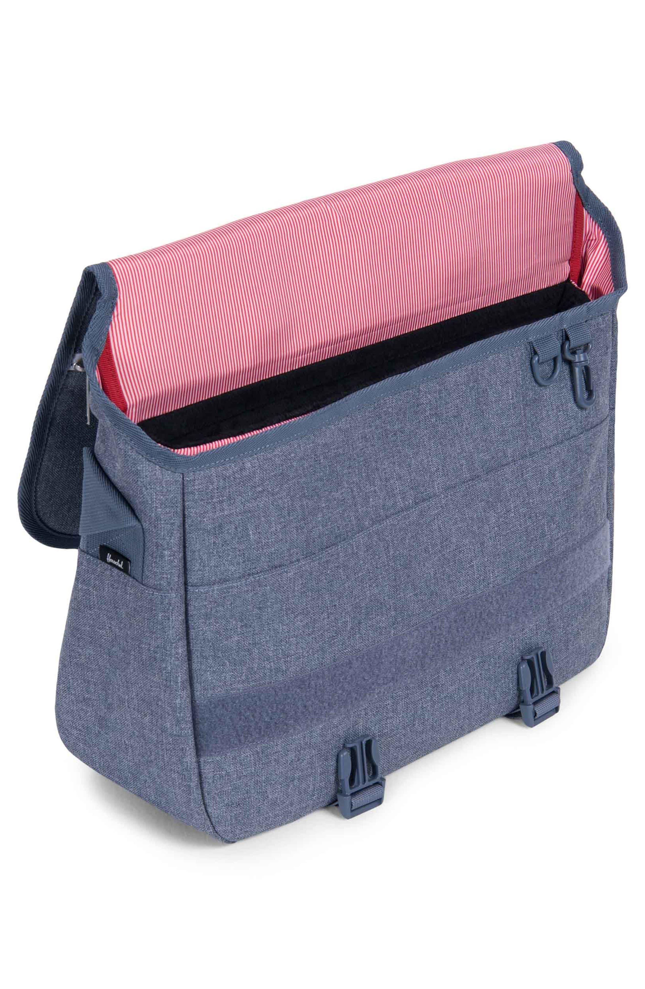 Alternate Image 3  - Herschel Supply Co. 'Pop Quiz' Messenger Bag