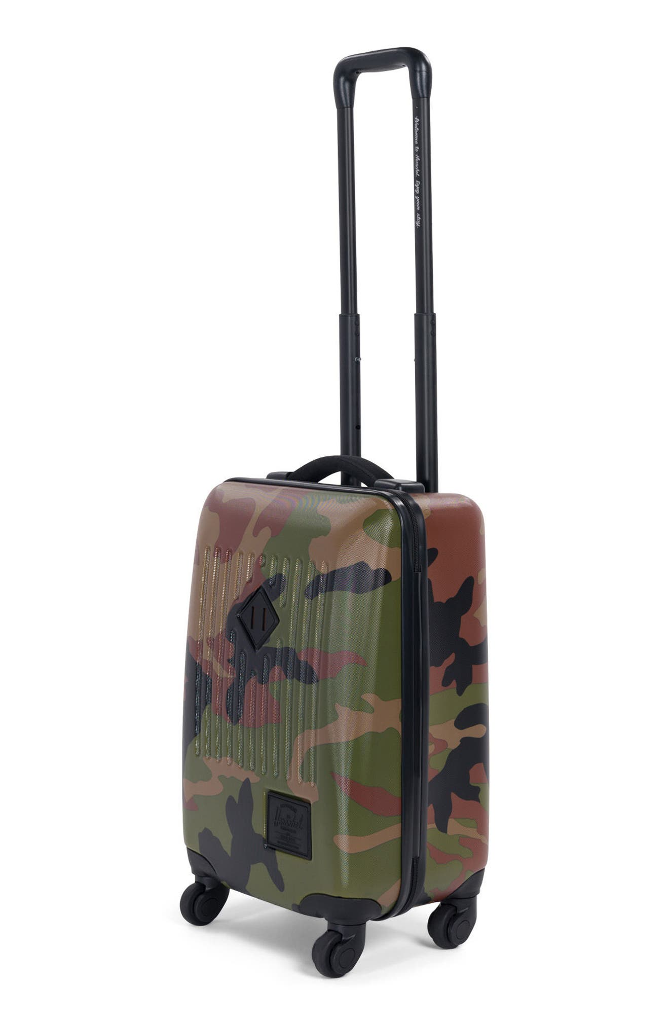 Trade 20-Inch Wheeled Carry-On,                             Alternate thumbnail 3, color,                             Woodland Camo