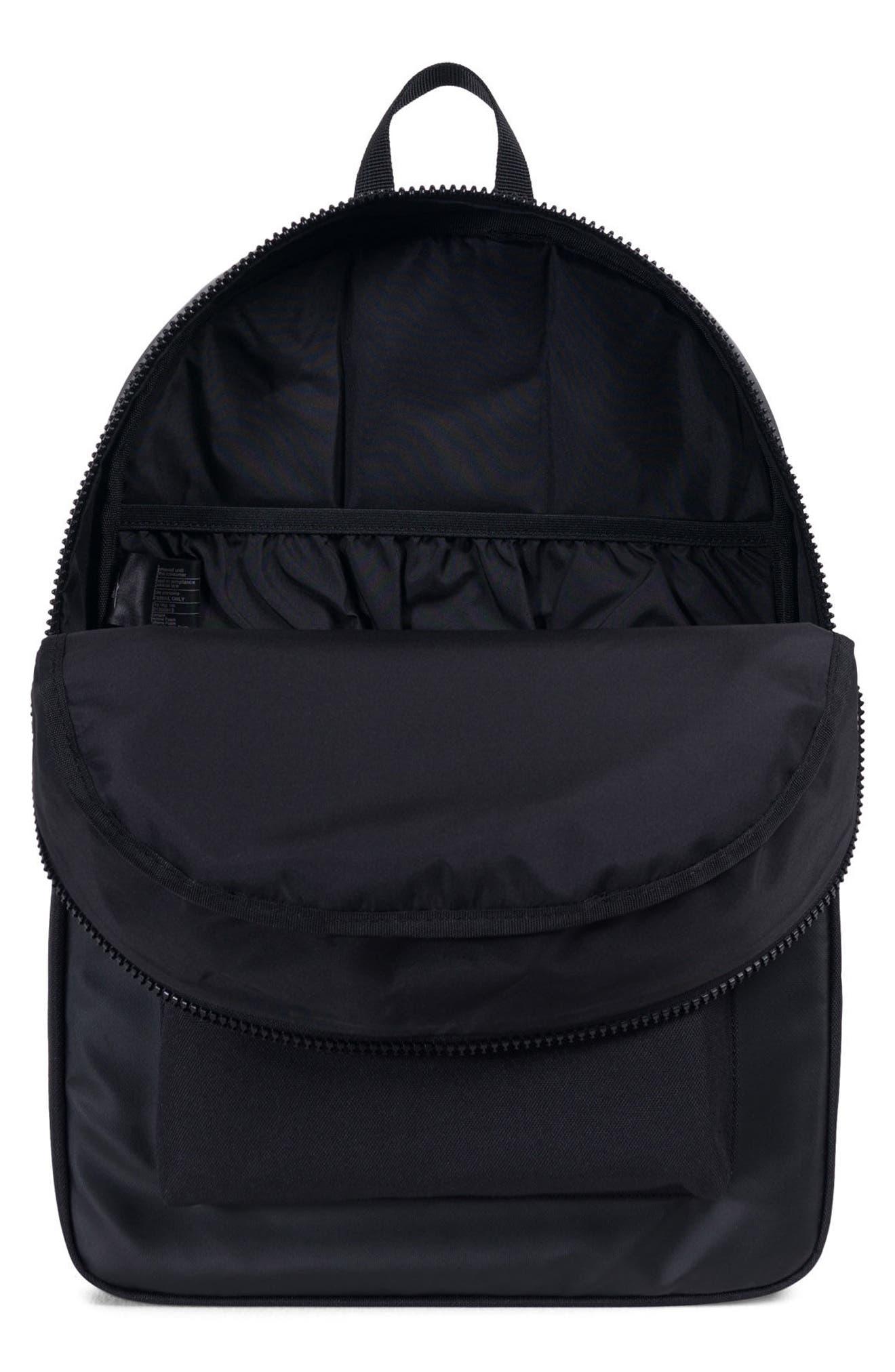 Winlaw Polycoat Studio Backpack,                             Alternate thumbnail 3, color,                             Black